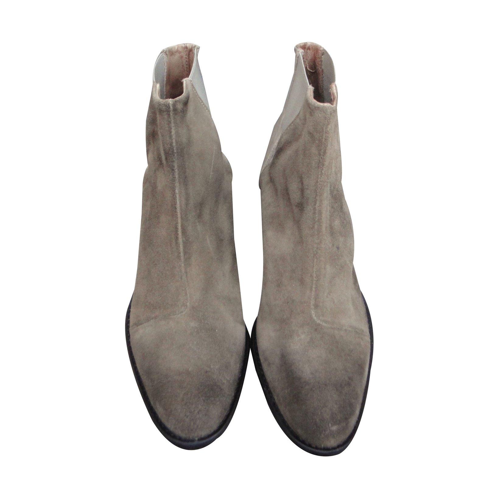 ed968846e8bb86 Diesel Ankle Boots Ankle Boots Deerskin Beige ref.44003 - Joli Closet
