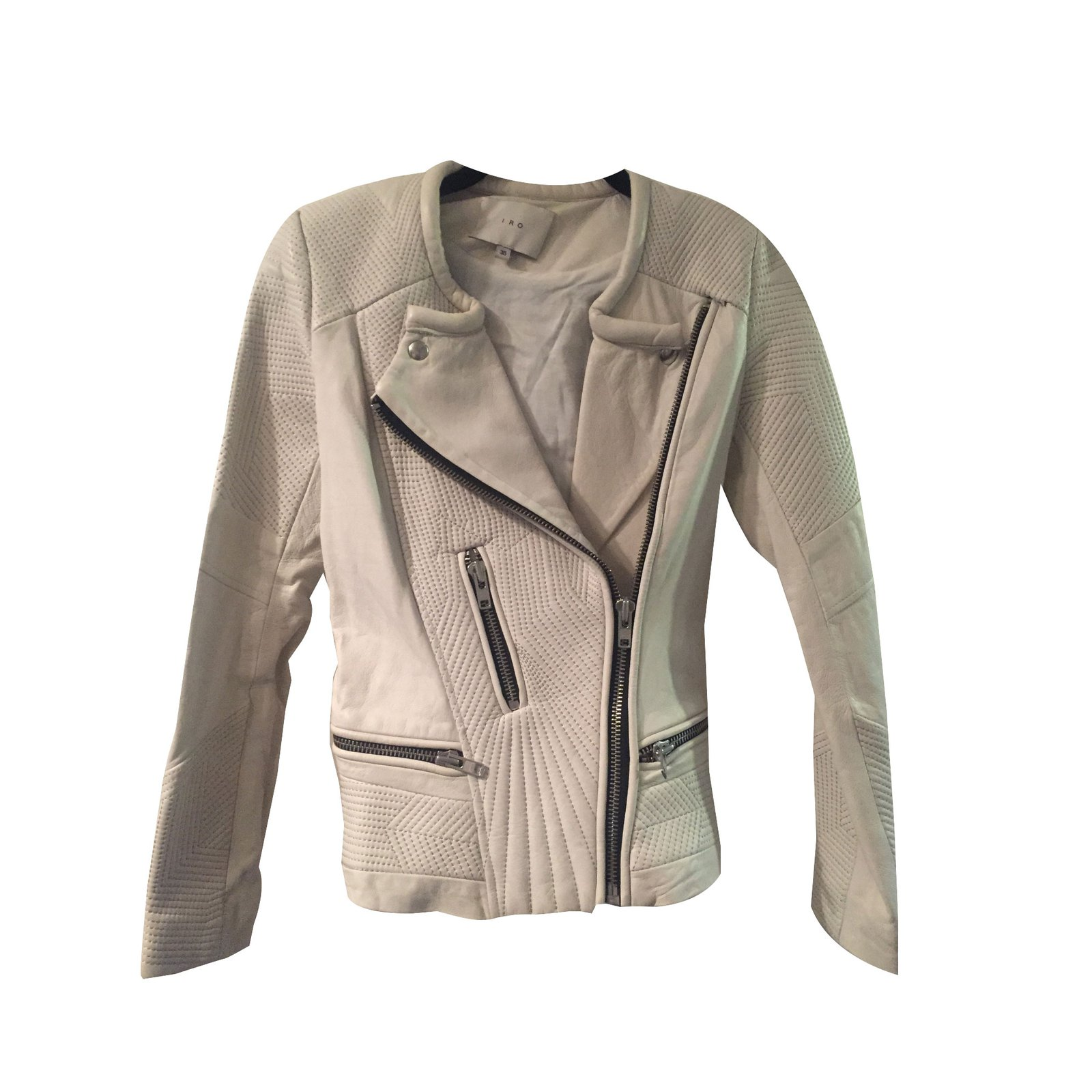 veste en cuir blanc casse les vestes la mode sont populaires partout dans le monde. Black Bedroom Furniture Sets. Home Design Ideas