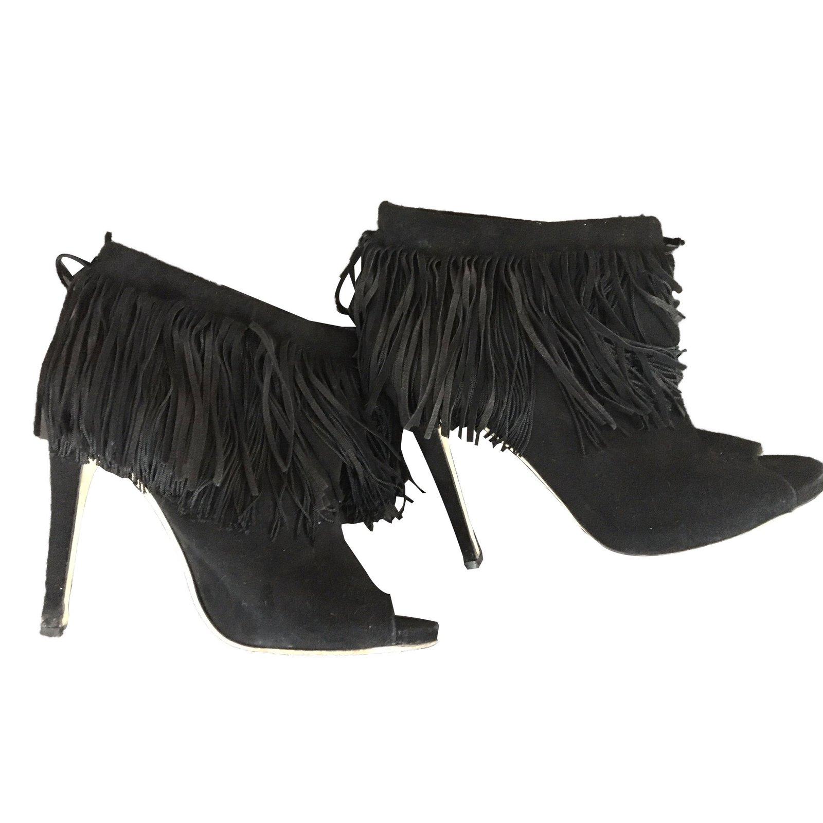 7d38af4f990 ... reduced jimmy choo ankle boots ankle boots deerskin black ref.44328  6d55b 5b6b4