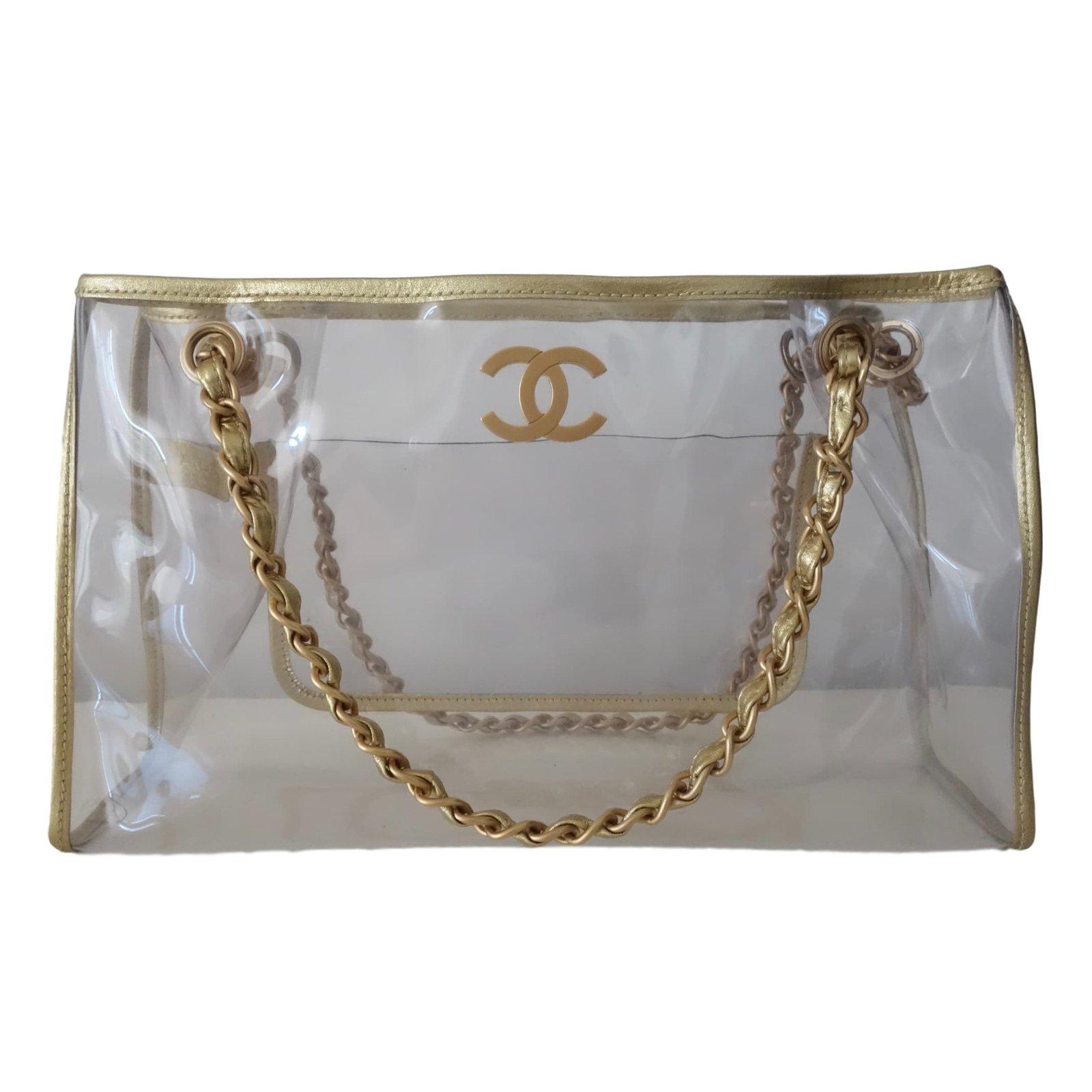 4cbc03569f5110 Chanel Handbags Handbags Plastic Golden ref.44614 - Joli Closet