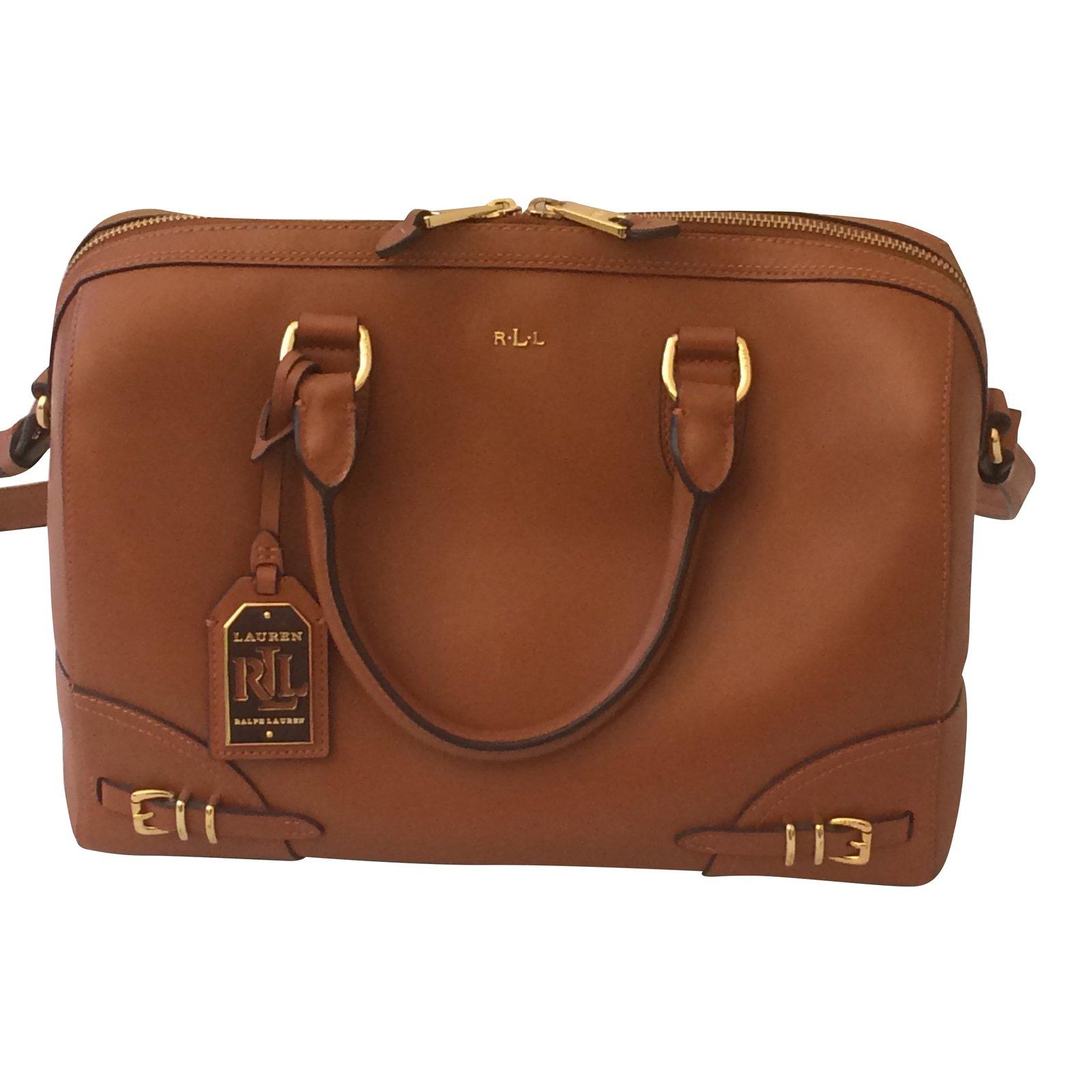 Ralph Lauren Handbags Leather