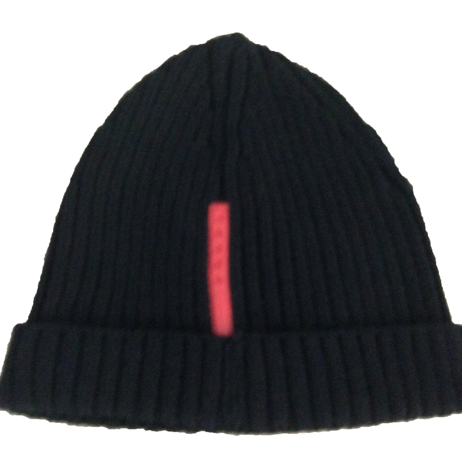 ec1cfd682fb ... good prada hat beanie hats wool black ref.45286 c9f5d 04c78