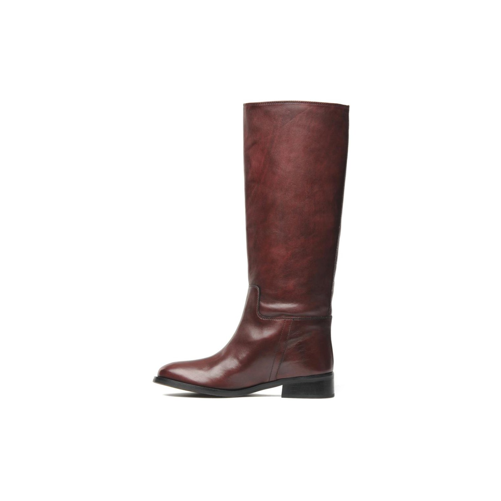 Autre Marque JONAK Boots Boots Leather Dark red ref.45337