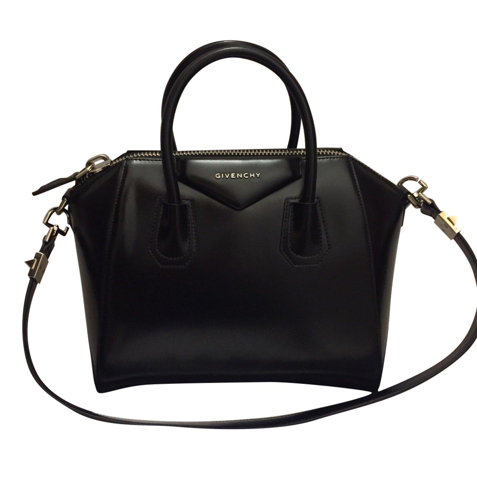 givenchy antigona small givenchy handbags leather black joli closet. Black Bedroom Furniture Sets. Home Design Ideas