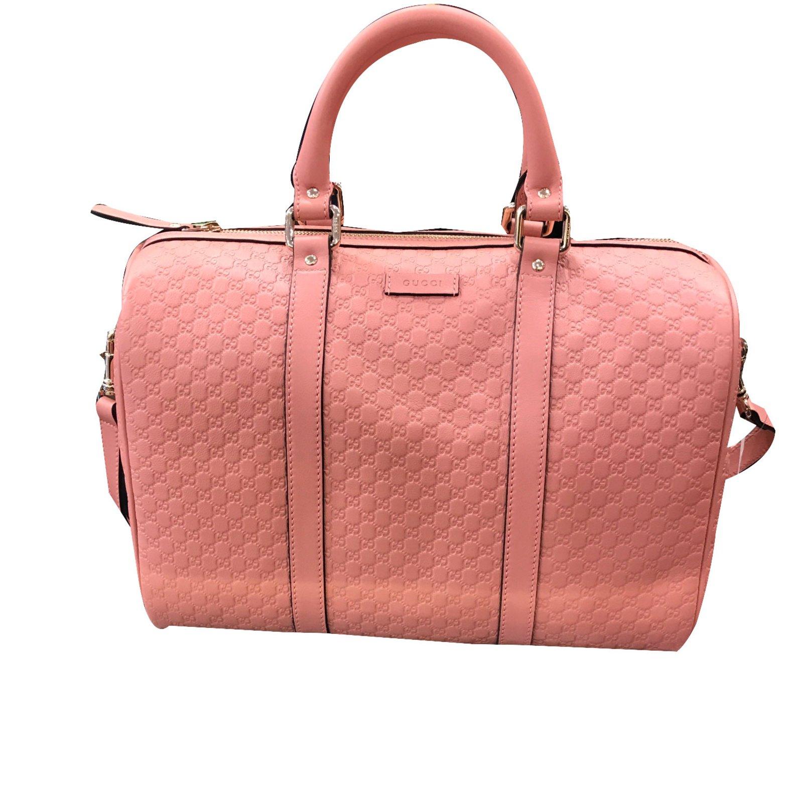 6207986aa Gucci Handbag Handbags Leather Pink ref.46214 - Joli Closet