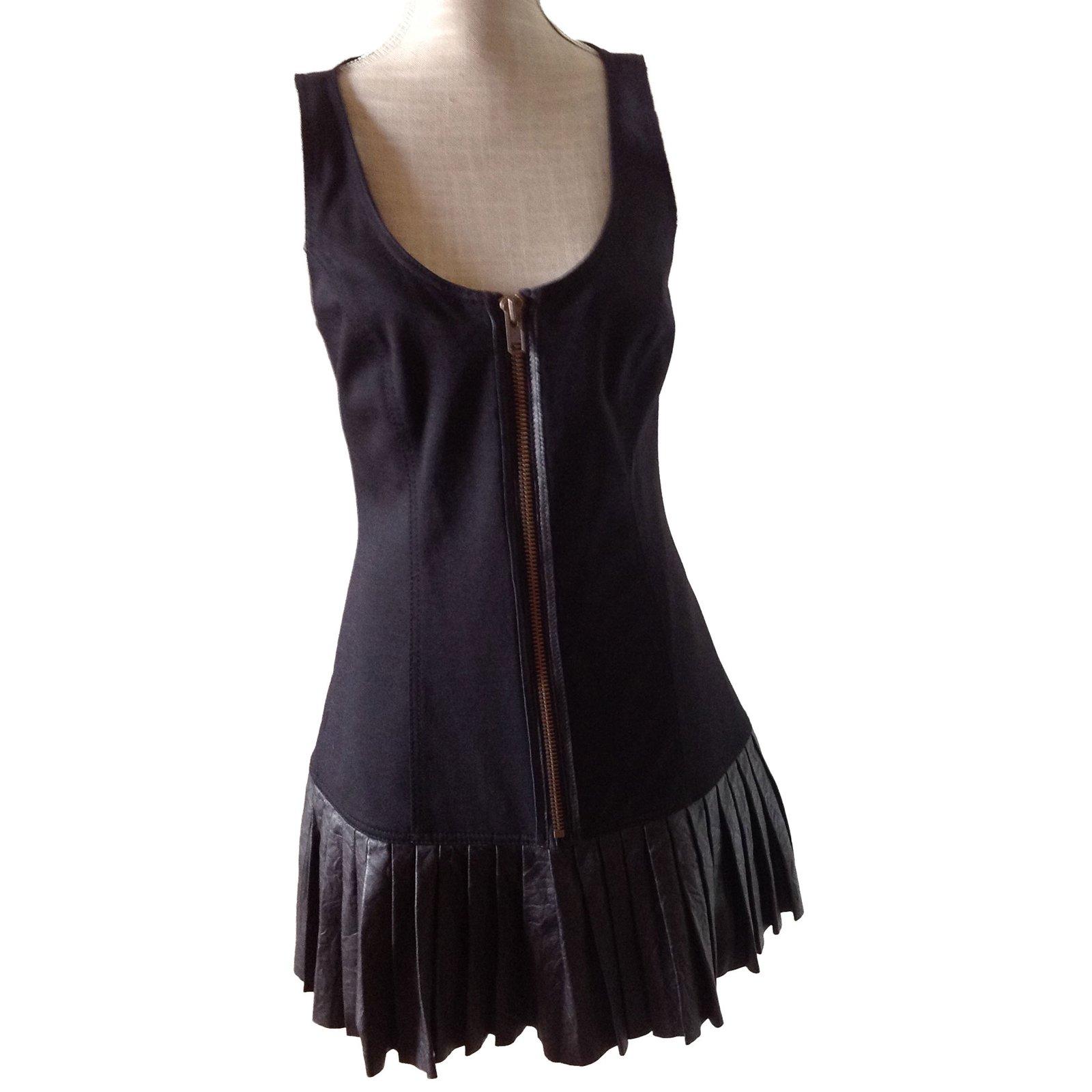 e56a6e091c2 Catherine Malandrino Dresses Dresses Cotton Black ref.46460 - Joli ...