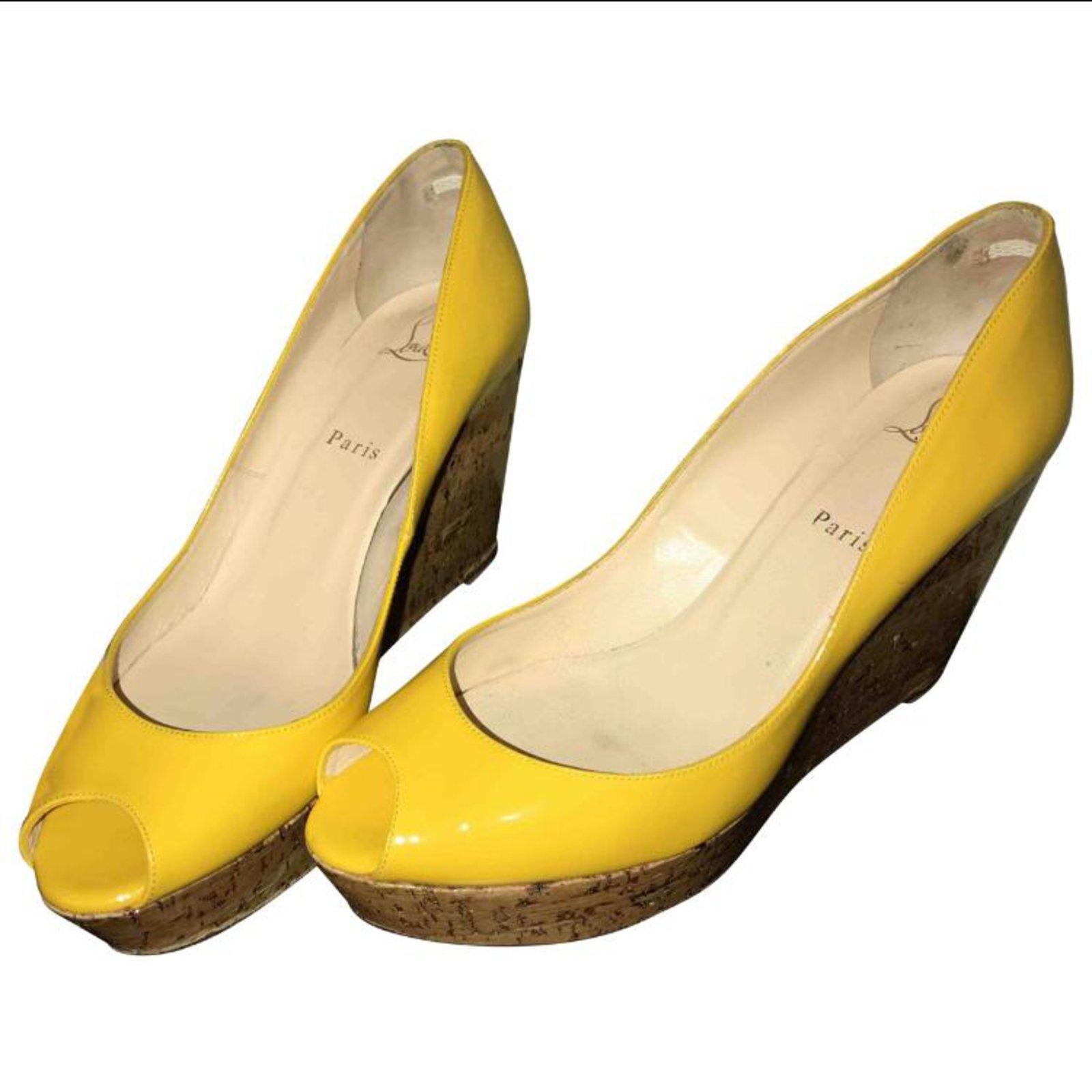 louboutin jaune