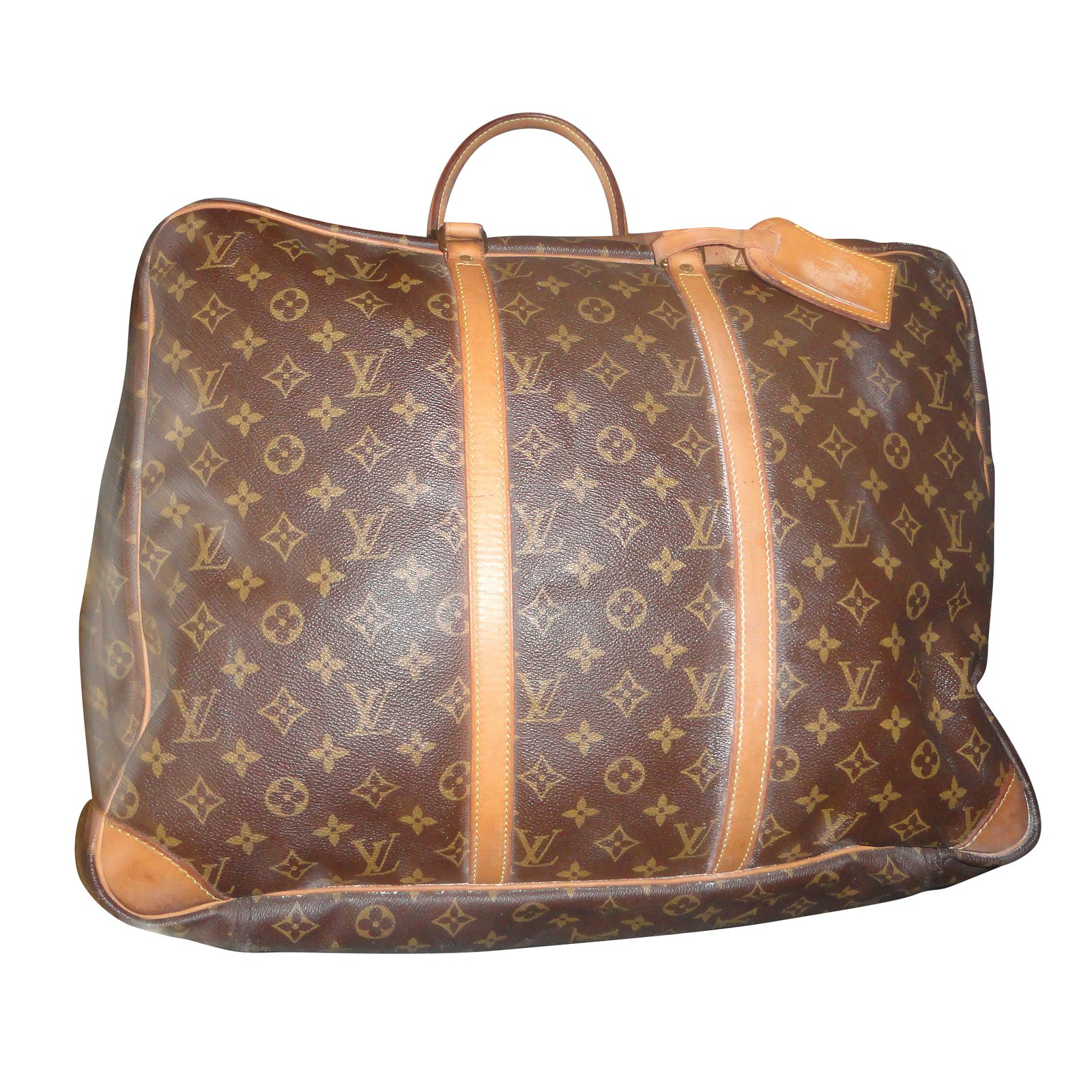 sacs de voyage louis vuitton sac valise souple synth tique multicolore joli closet. Black Bedroom Furniture Sets. Home Design Ideas