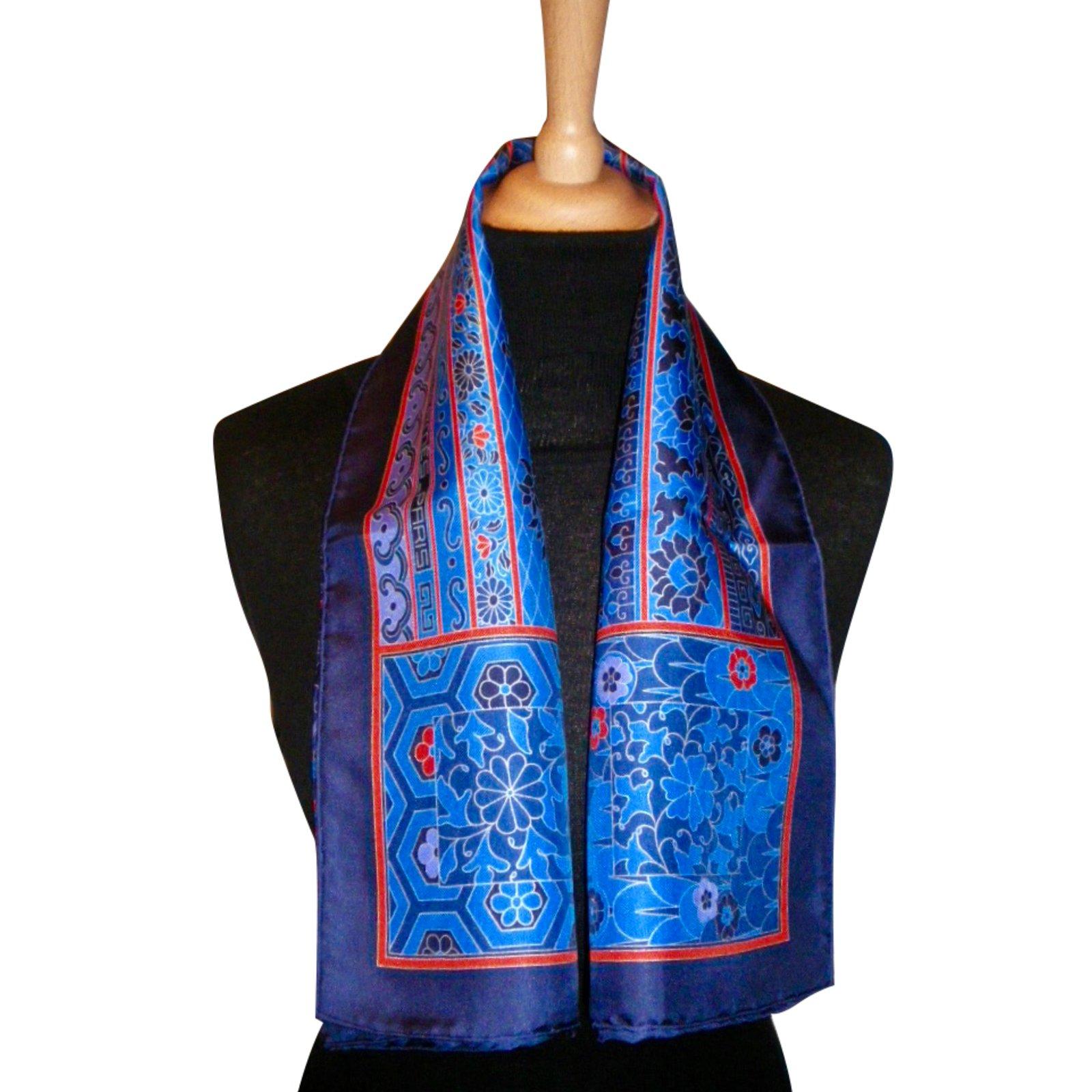 6ec65edad115 Foulards Hermès COLLECTIONS IMPÉRIALES Soie Multicolore ref.47159 ...