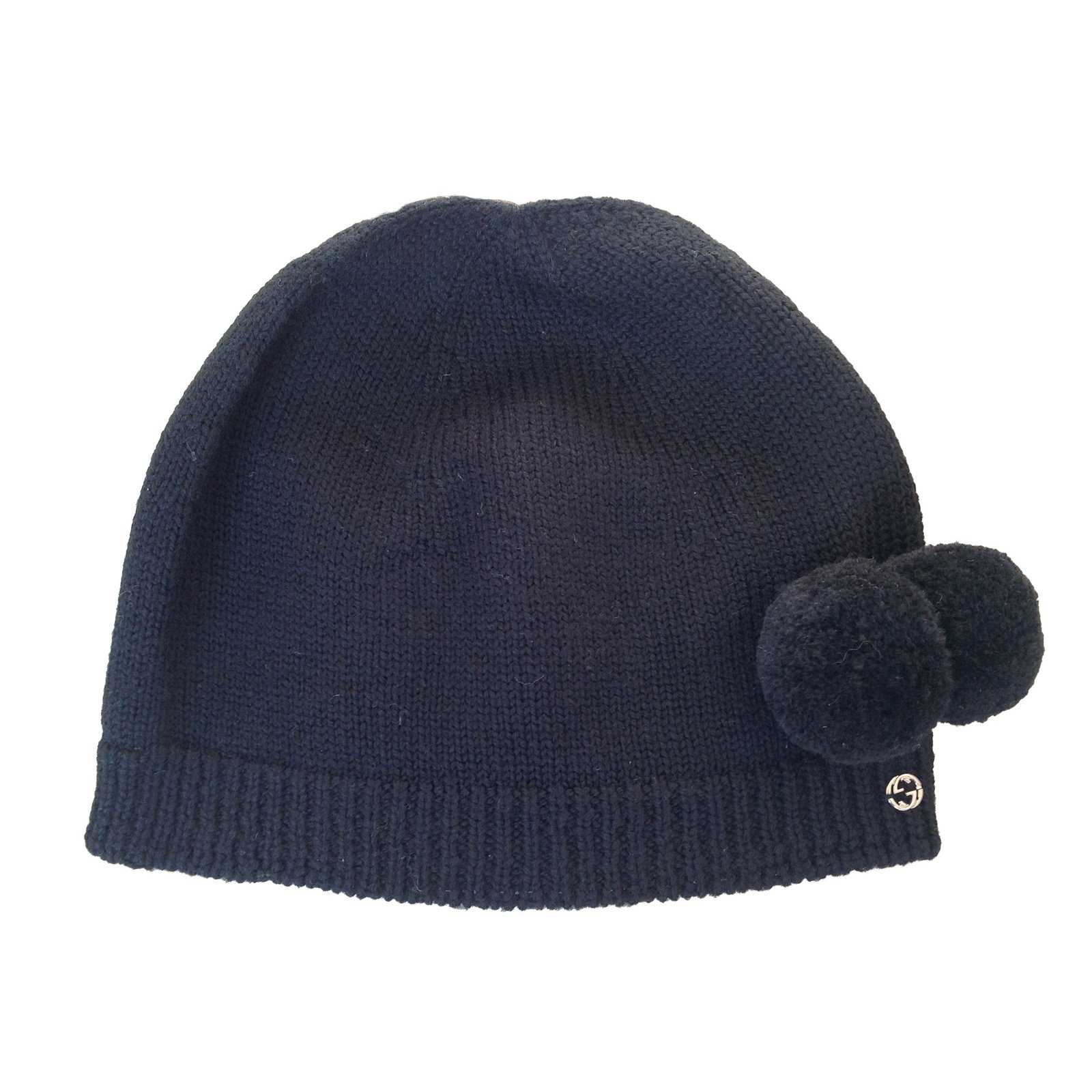 9ea71dde8a6 Gucci Gucci wool hat Hats Wool Black ref.47393 - Joli Closet