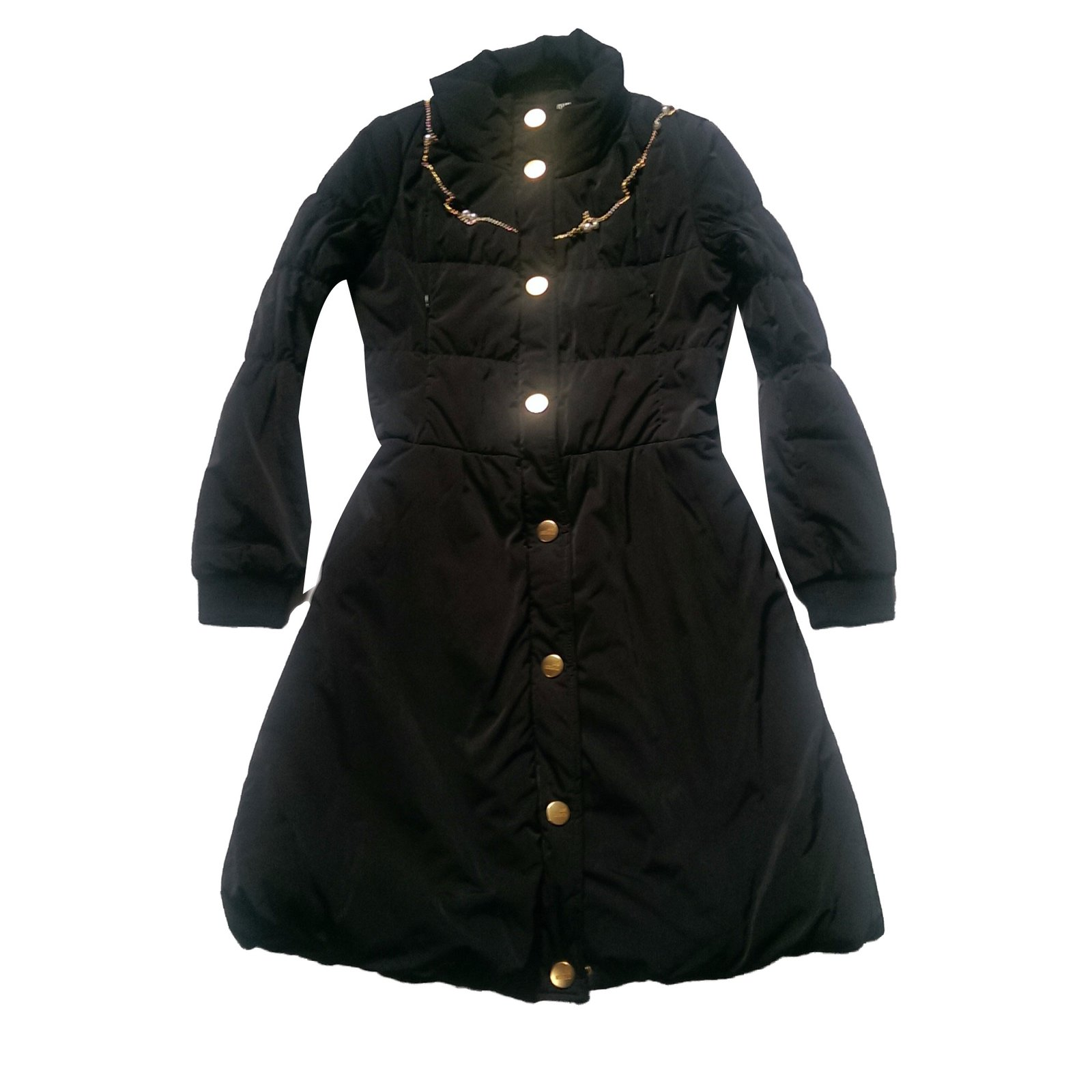 7b1f865a12 Love Moschino Coats, Outerwear Coats, Outerwear Polyester,Wool,Elastane  Black ref.
