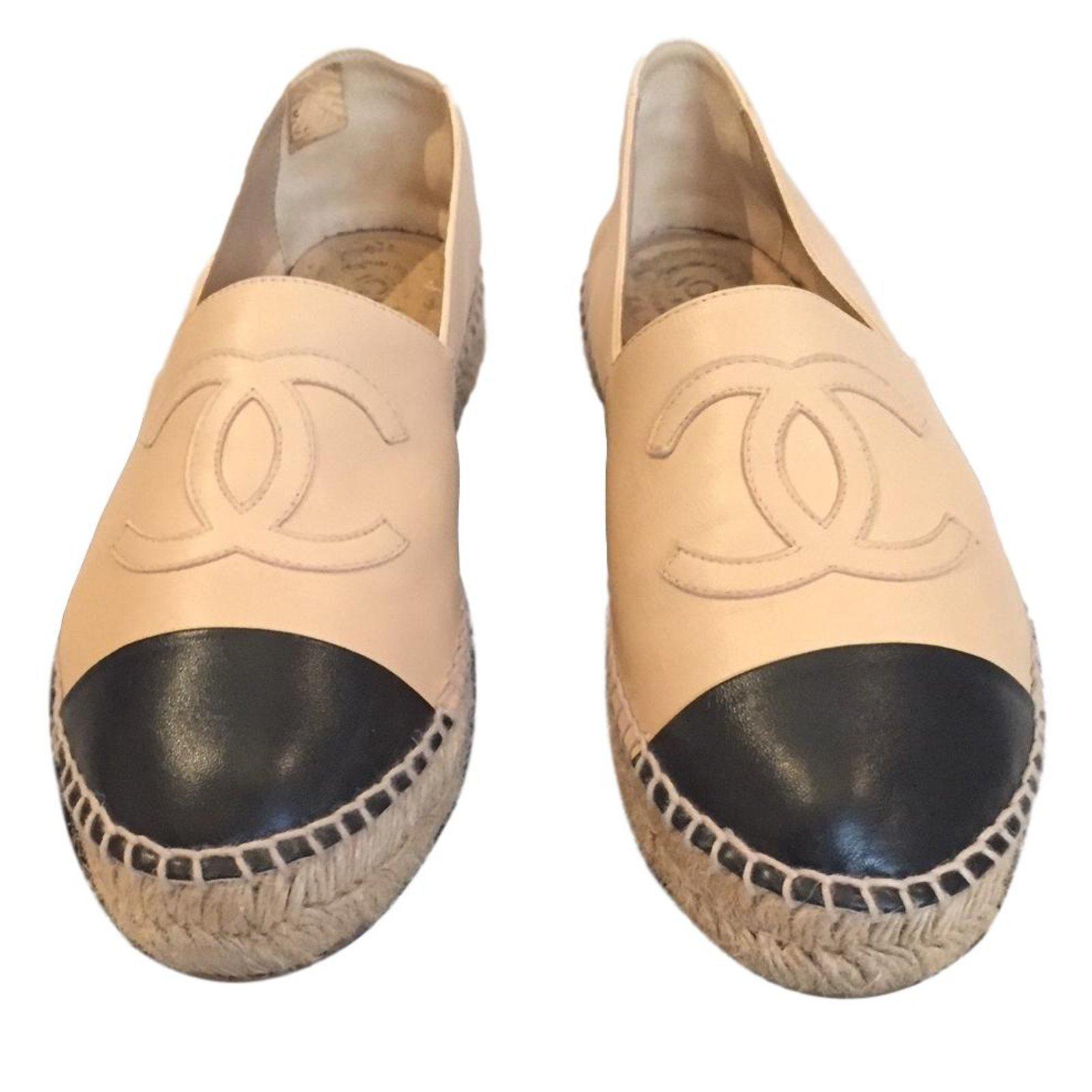 Chanel Shoes Espadrilles Black