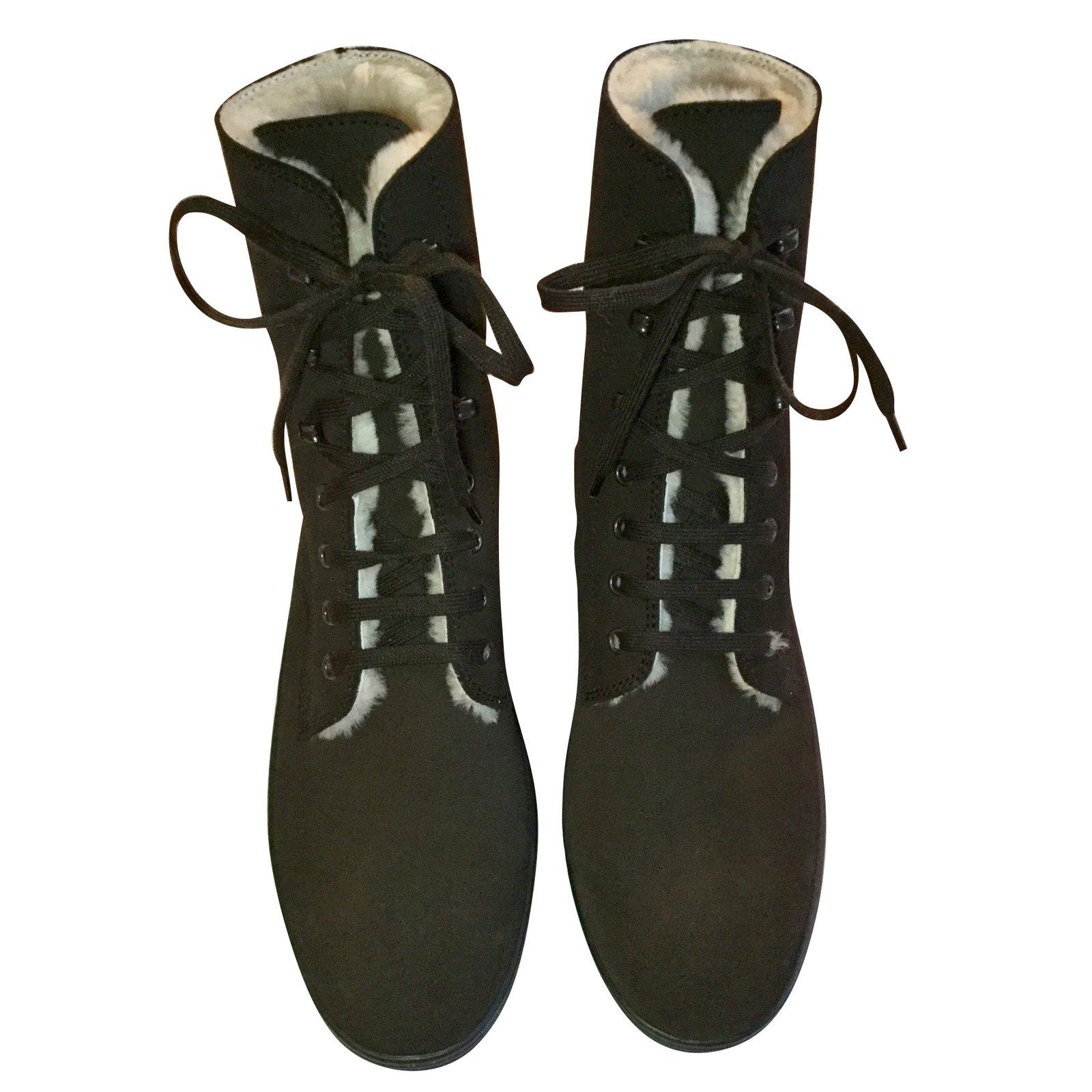 Tod's Tod's Lace Up Ankle Boots Ankle