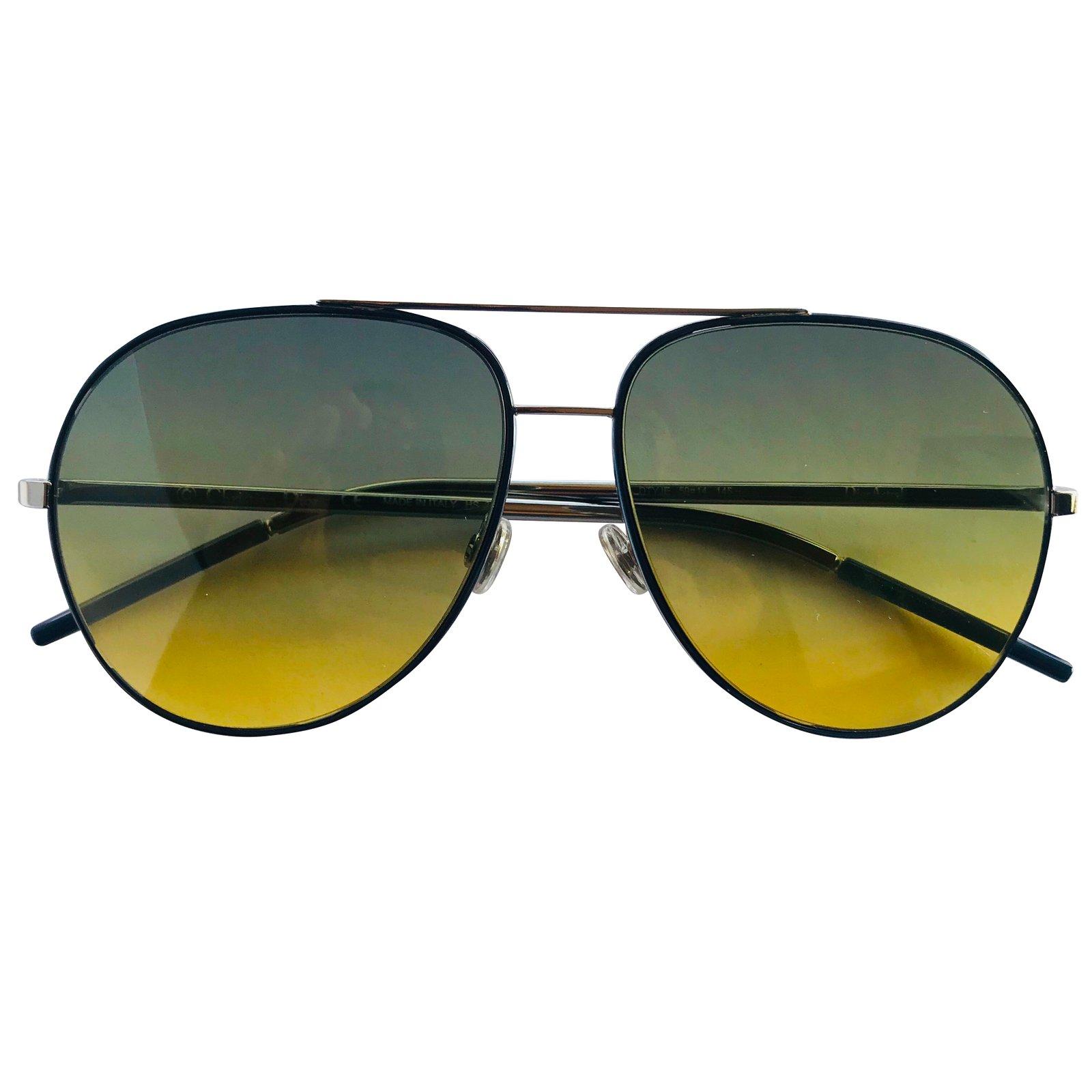 1a71b86bca95 Christian Dior Dior sunglasses men Sunglasses Metal Silvery ref.48780