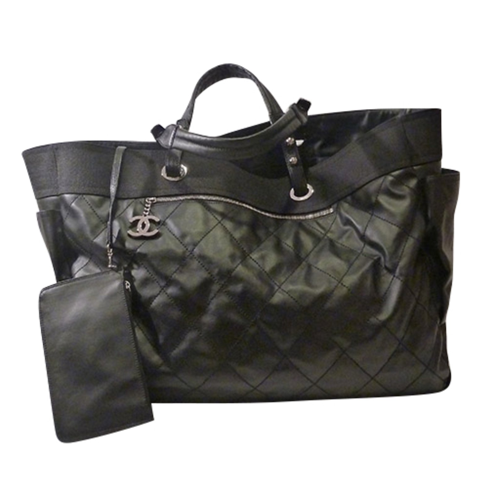 6854898ae4aa Chanel Chanel Paris Biarritz Tote Bag Totes Other Black ref.49029 ...