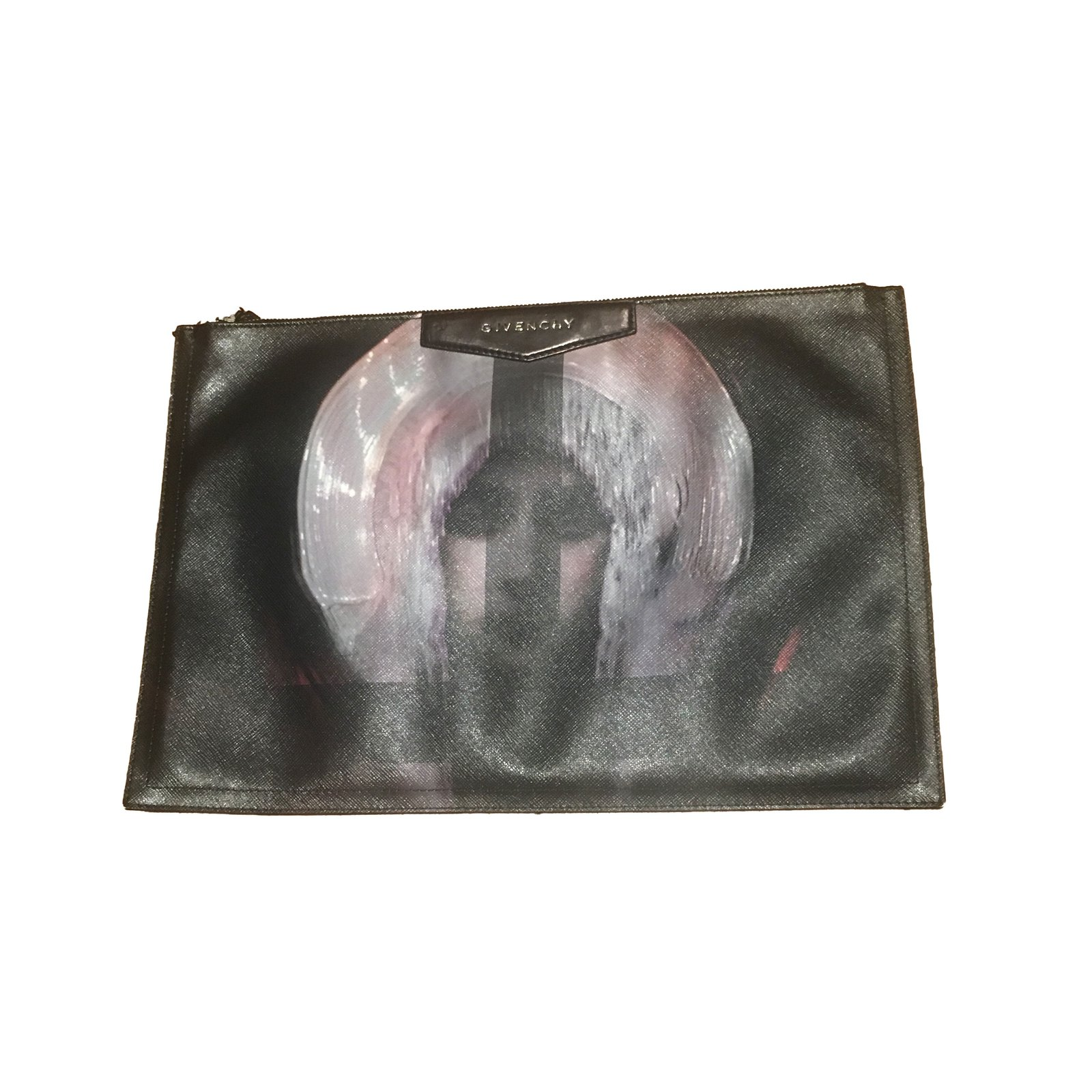4965edf2a0 Givenchy Medium Antigona clutch Clutch bags Leather Black ref.49309 ...