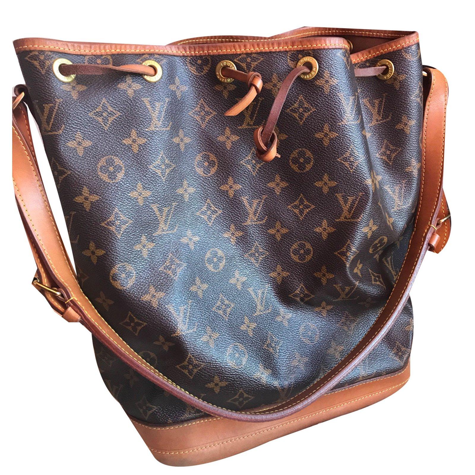 920332cc398d5 Louis Vuitton Sac Noé GM Canvas Monogram Handbags Leather