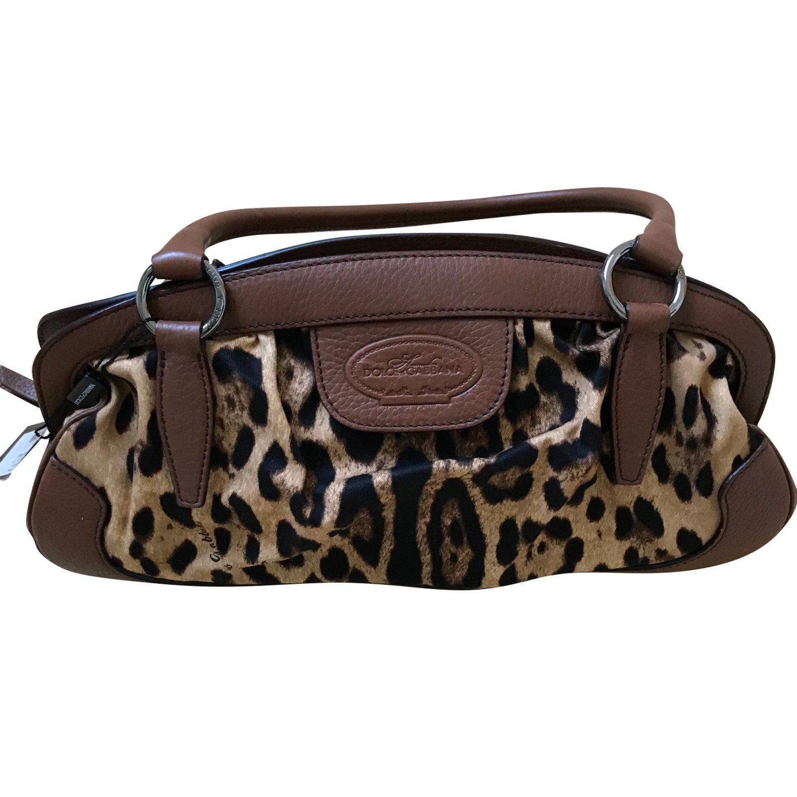 b631f4a0d0 Dolce   Gabbana Handbags Handbags Other Leopard print ref.50018 ...