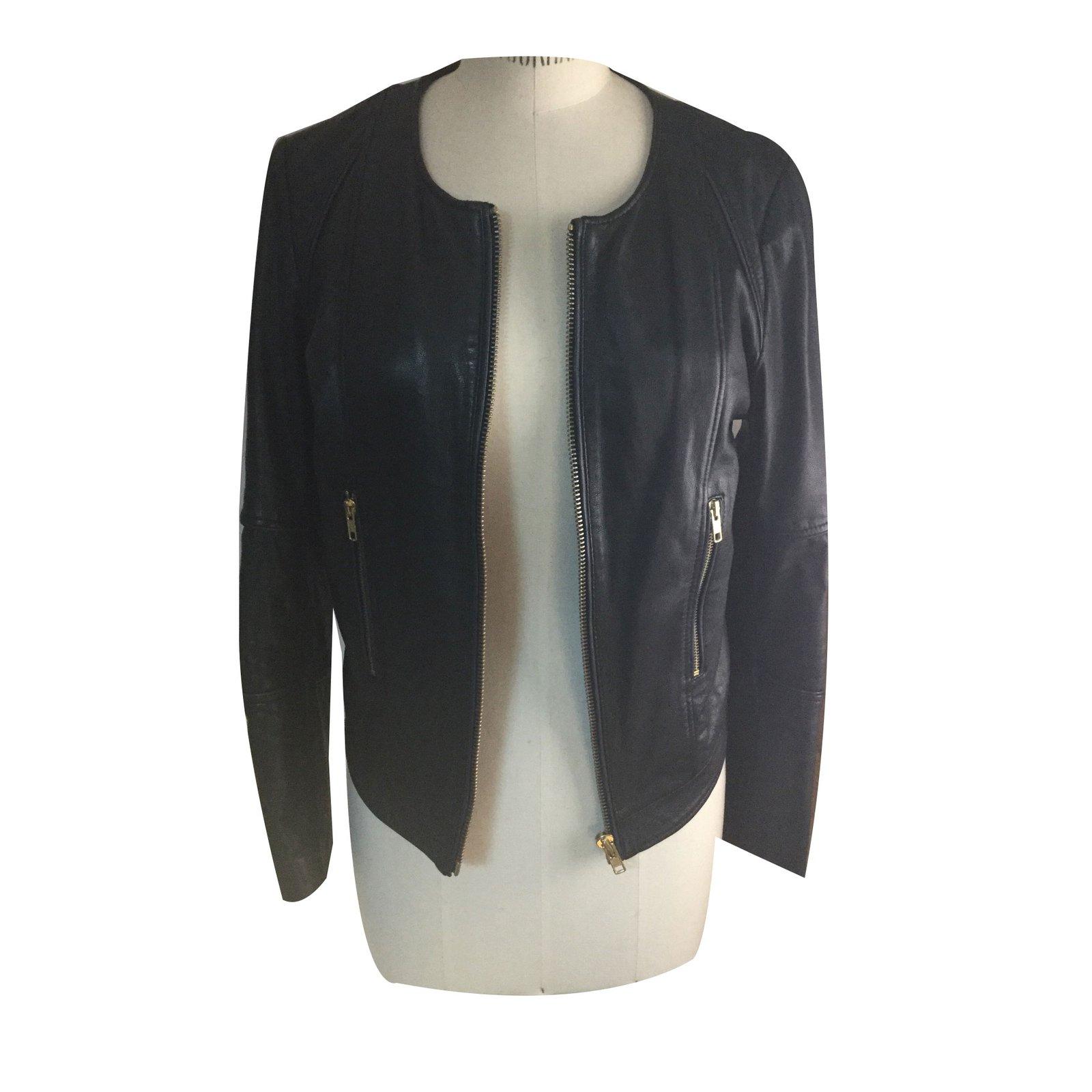 Veste ou blouson cuir