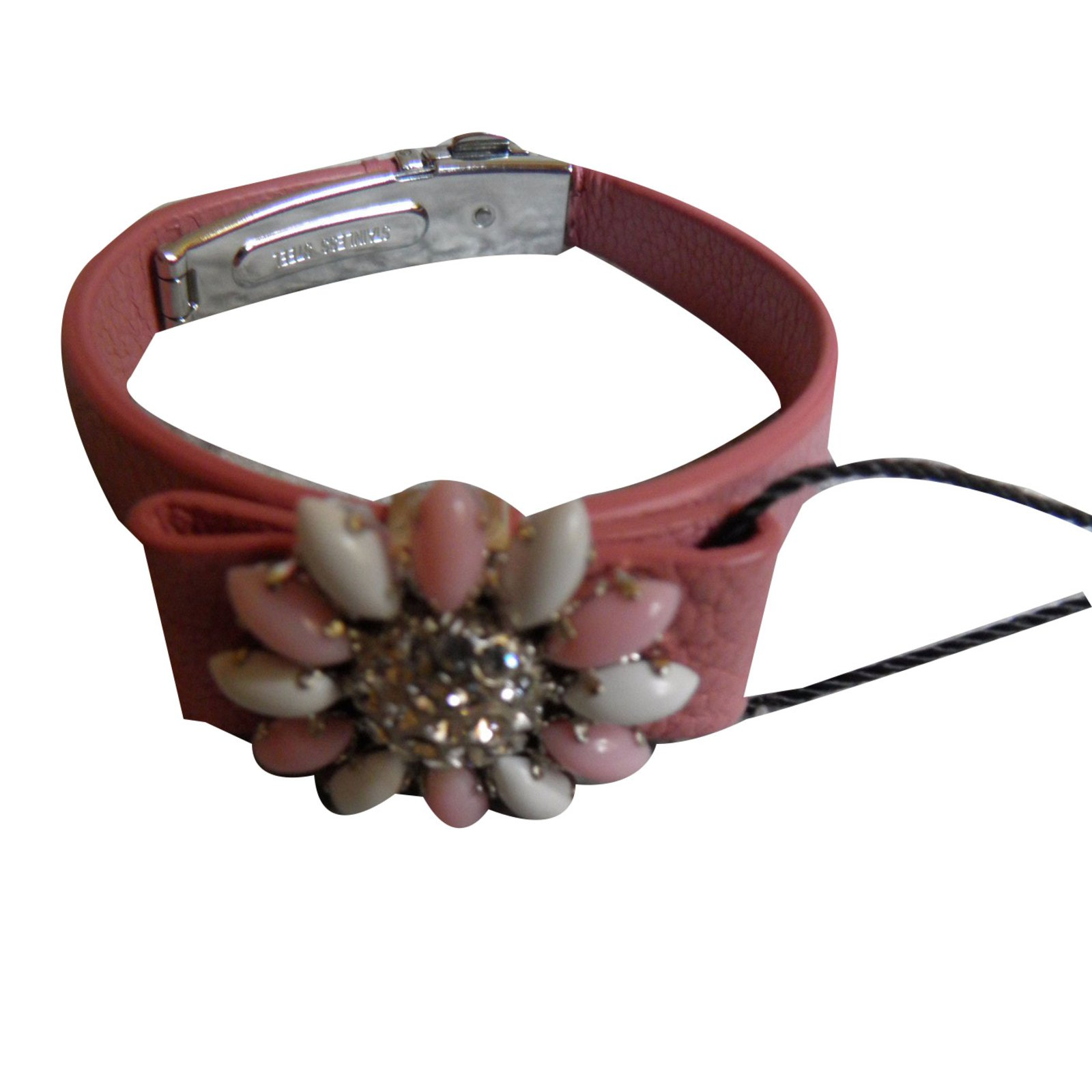 leather products miu bracelets enlarged the jewelry realreal bracelet wrap