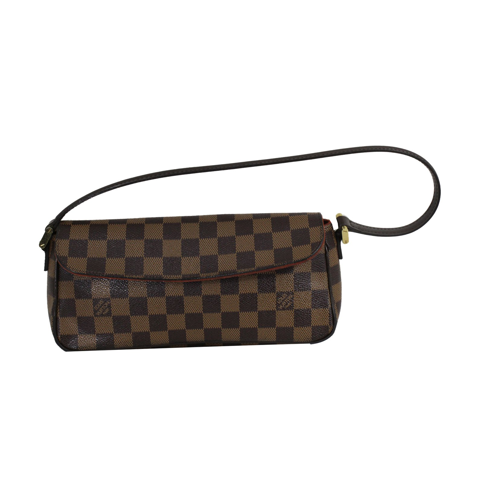91d08bba7049 Louis Vuitton Clutch bags Clutch bags Leather Brown ref.51030 - Joli ...