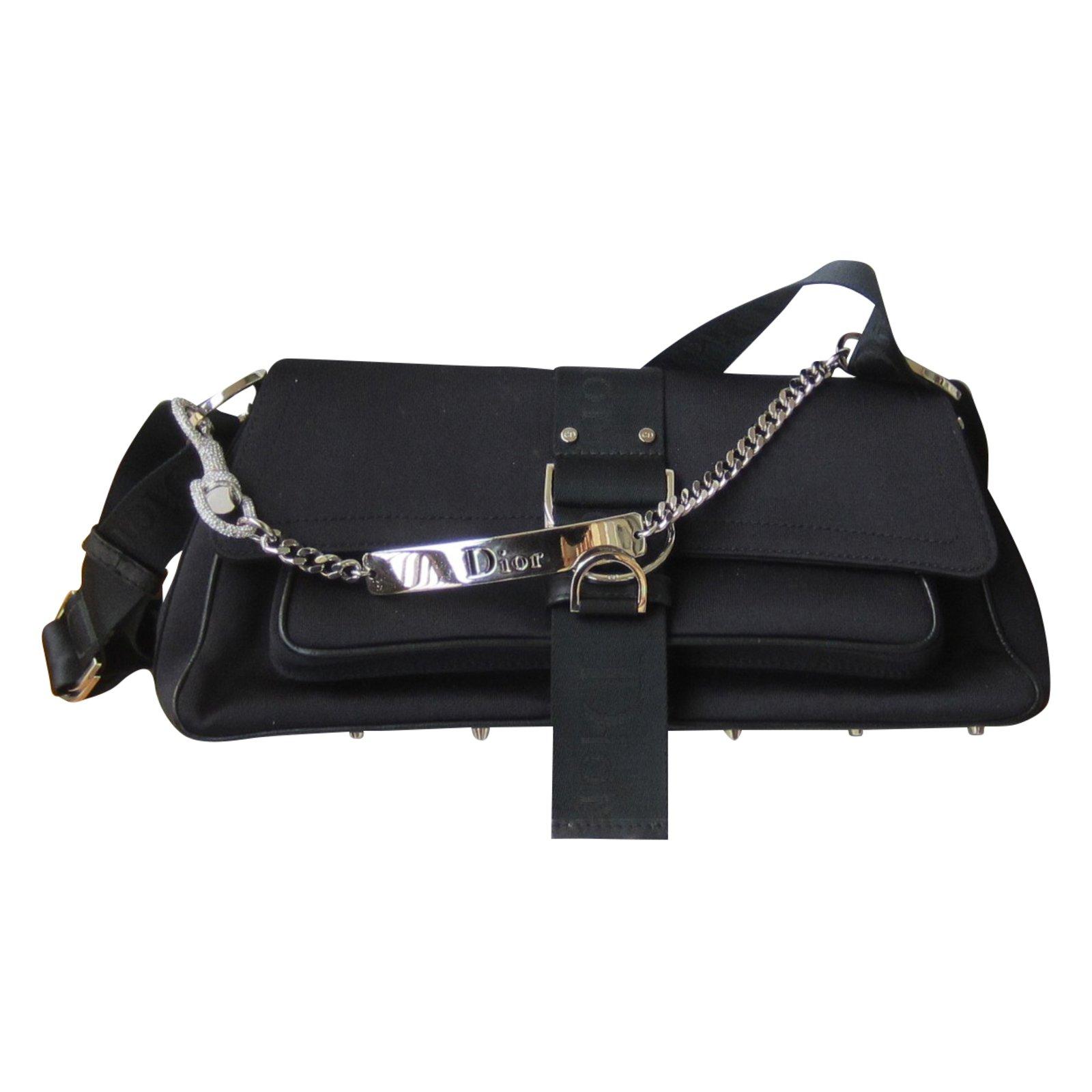 Dior Handbags Leather Black Ref 51519