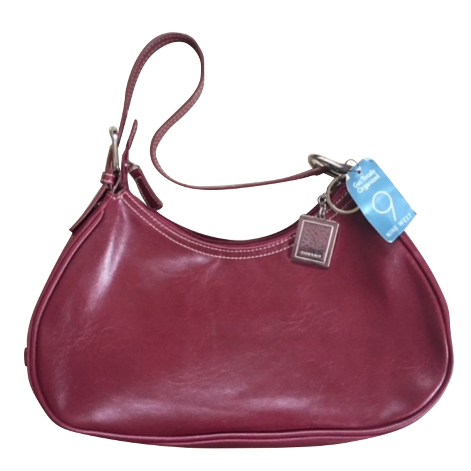 Nine West Handbags Leather Red Ref 51656