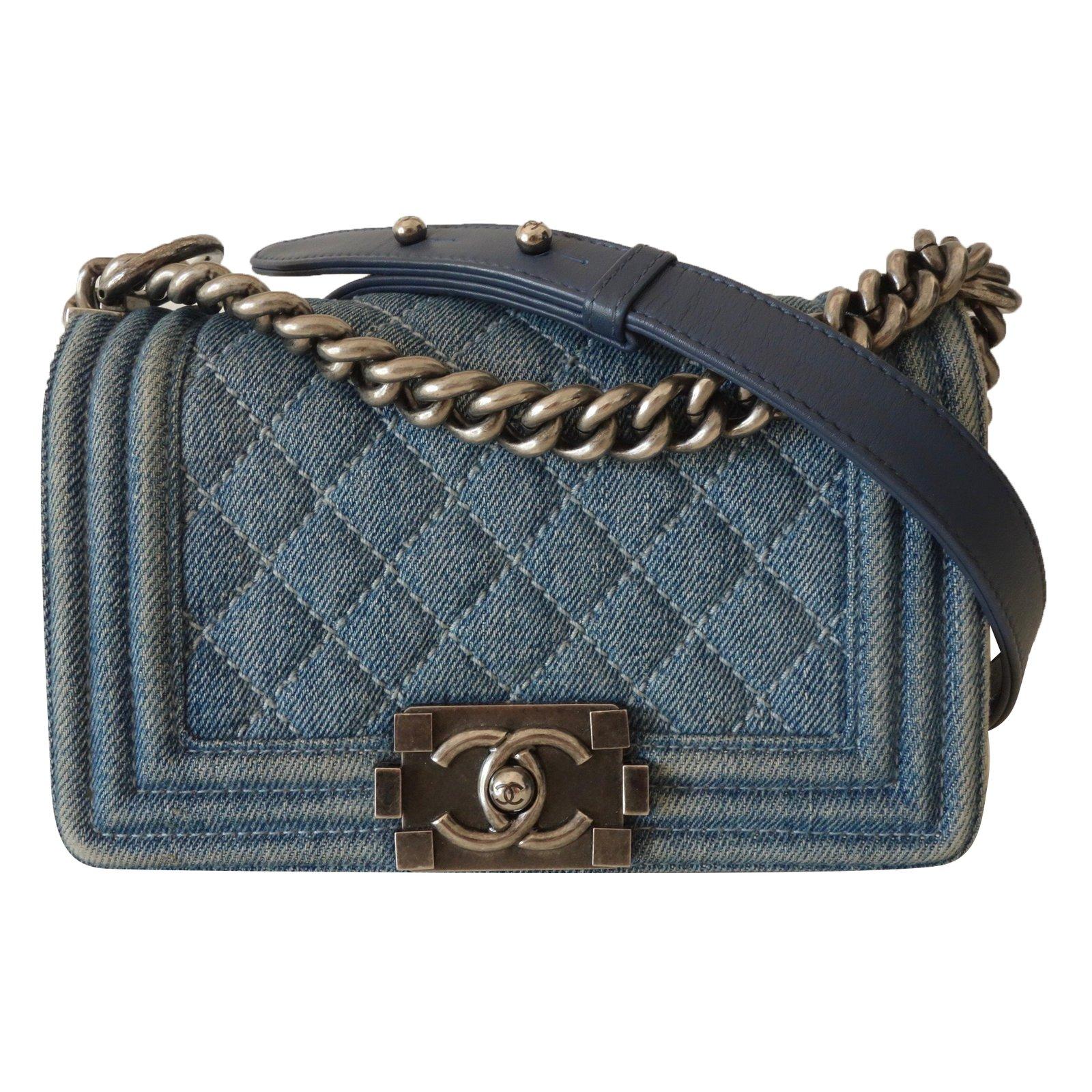 sacs main chanel sac chanel boy jean pm jean bleu joli closet. Black Bedroom Furniture Sets. Home Design Ideas