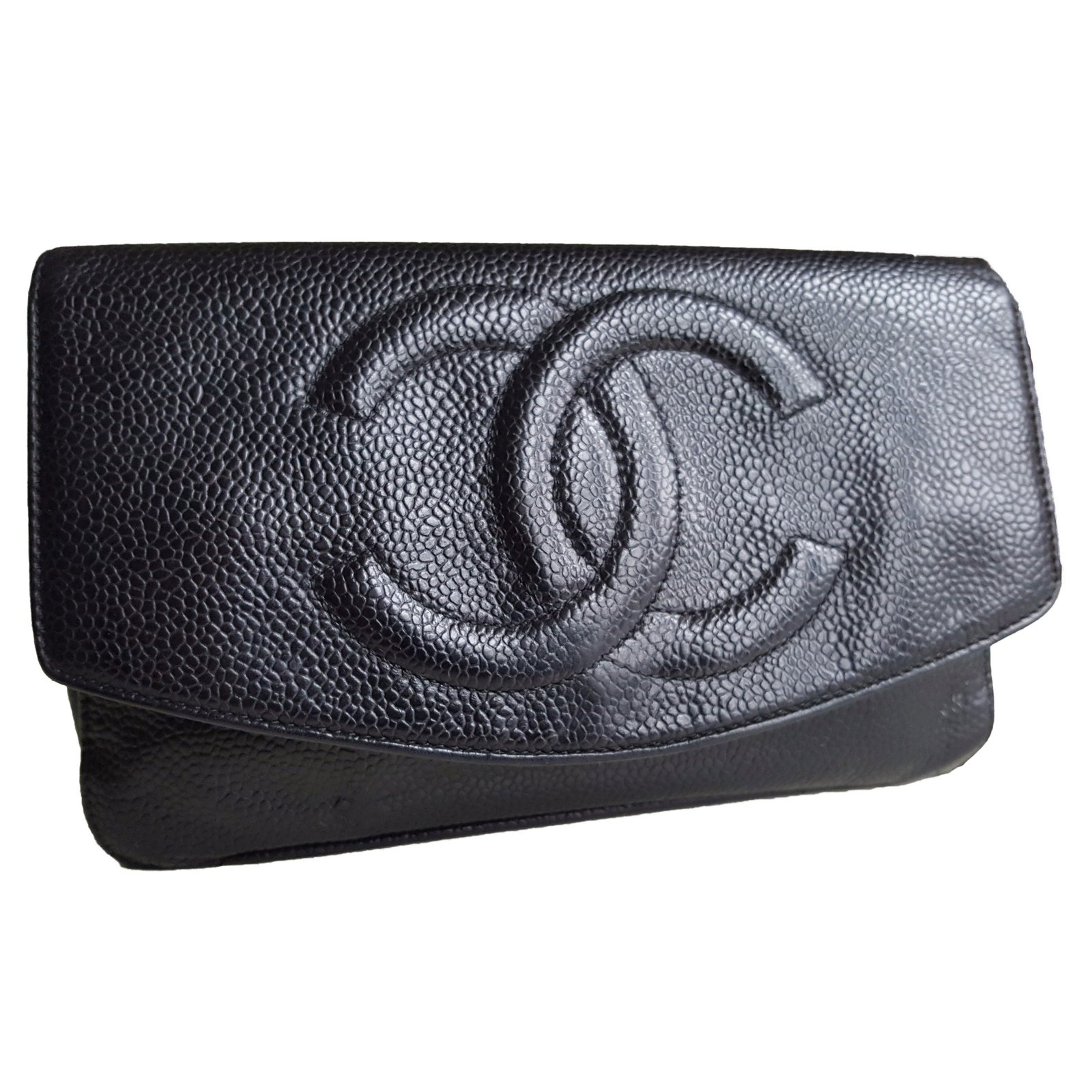 ef635c898afbca Chanel Wallets Wallets Leather Black ref.51992 - Joli Closet