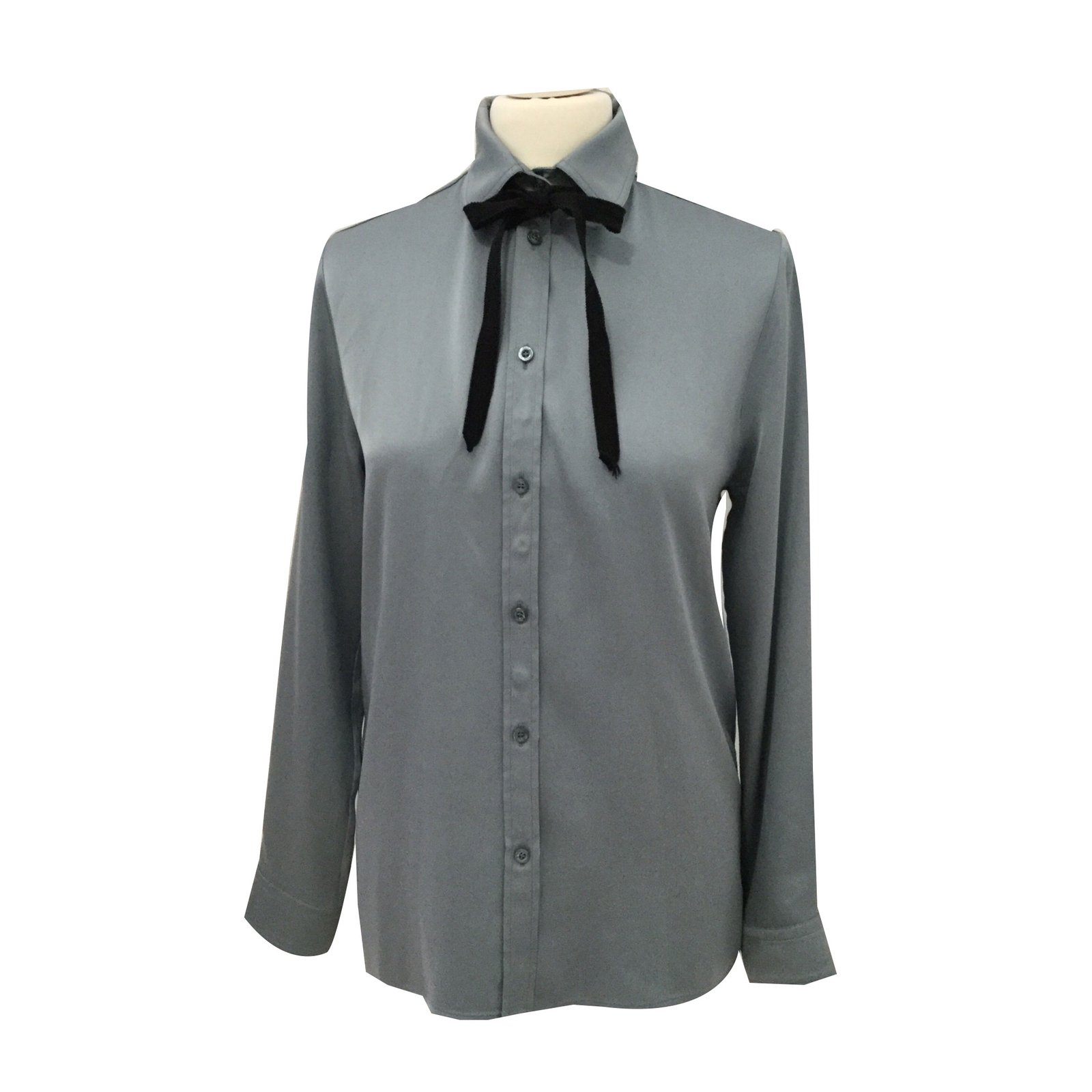 ea42fbb9a Gucci Blouse Tops Silk Blue ref.52210 - Joli Closet