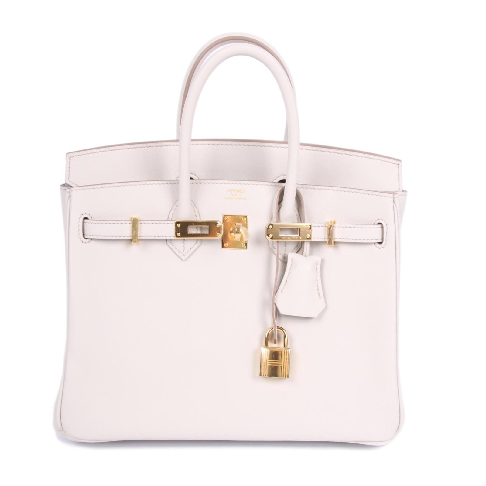 ... where can i buy hermès new hermes birkin 25 calfskin leather beton  handbags leather other ref f74ab0dd12f70