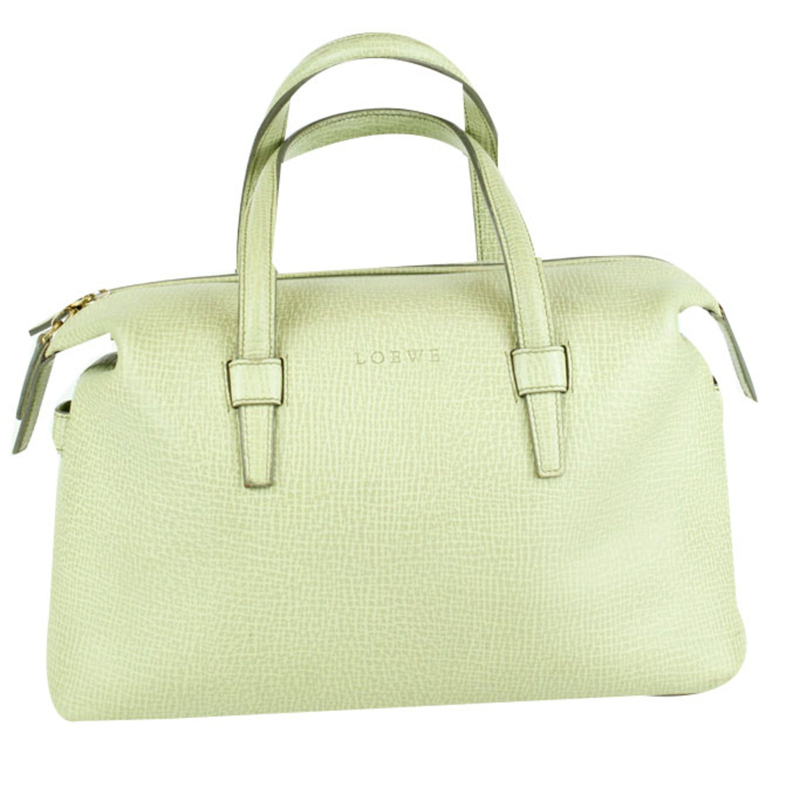 Loewe Handbags Leather Green Ref 53016