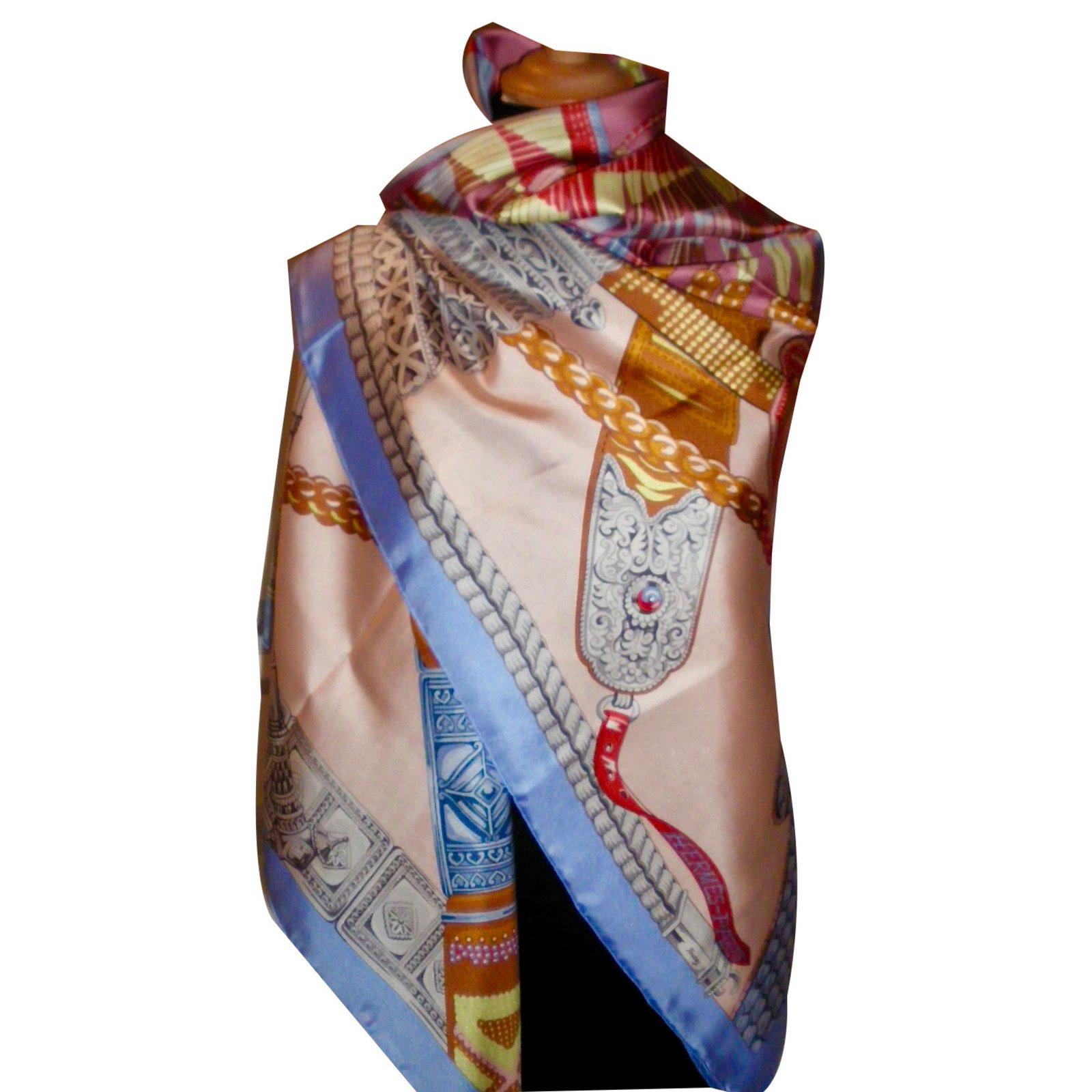 Hermès CEINTURES et LIENS Silk scarves Silk Multiple colors ref.55222 3c43fa9f06d