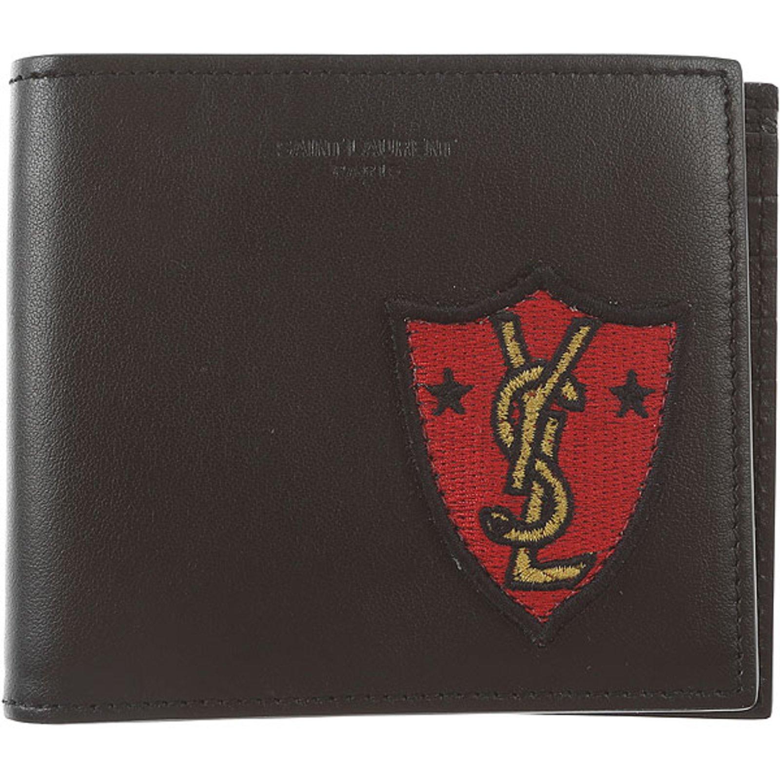 wholesale dealer 8cbed 421c4 Mens wallet YSL Saint Laurent