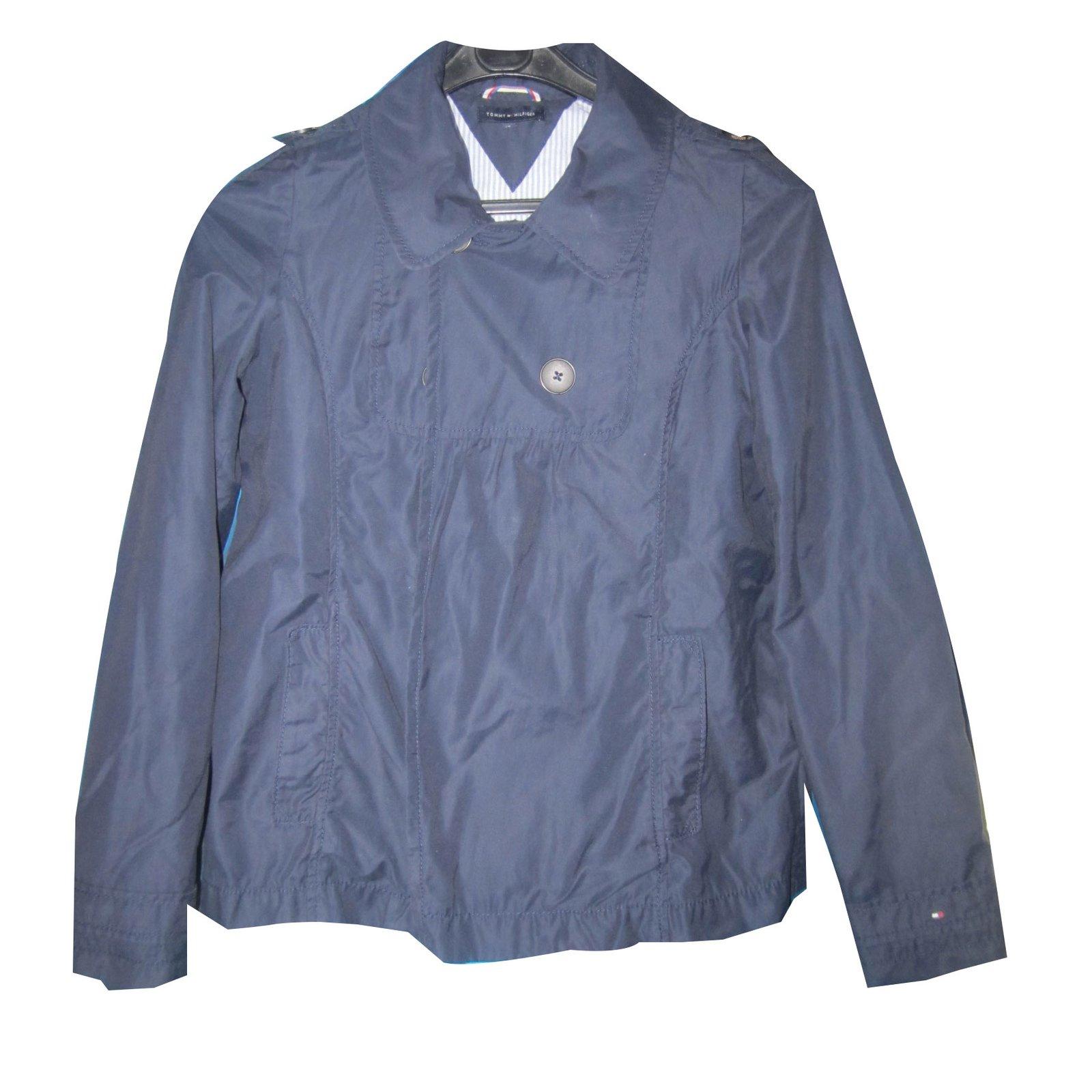 71cec9aad442f Blousons, manteaux filles Tommy Hilfiger Veste 14 ans Tommy Hilfiger Coton  Bleu Marine ref.