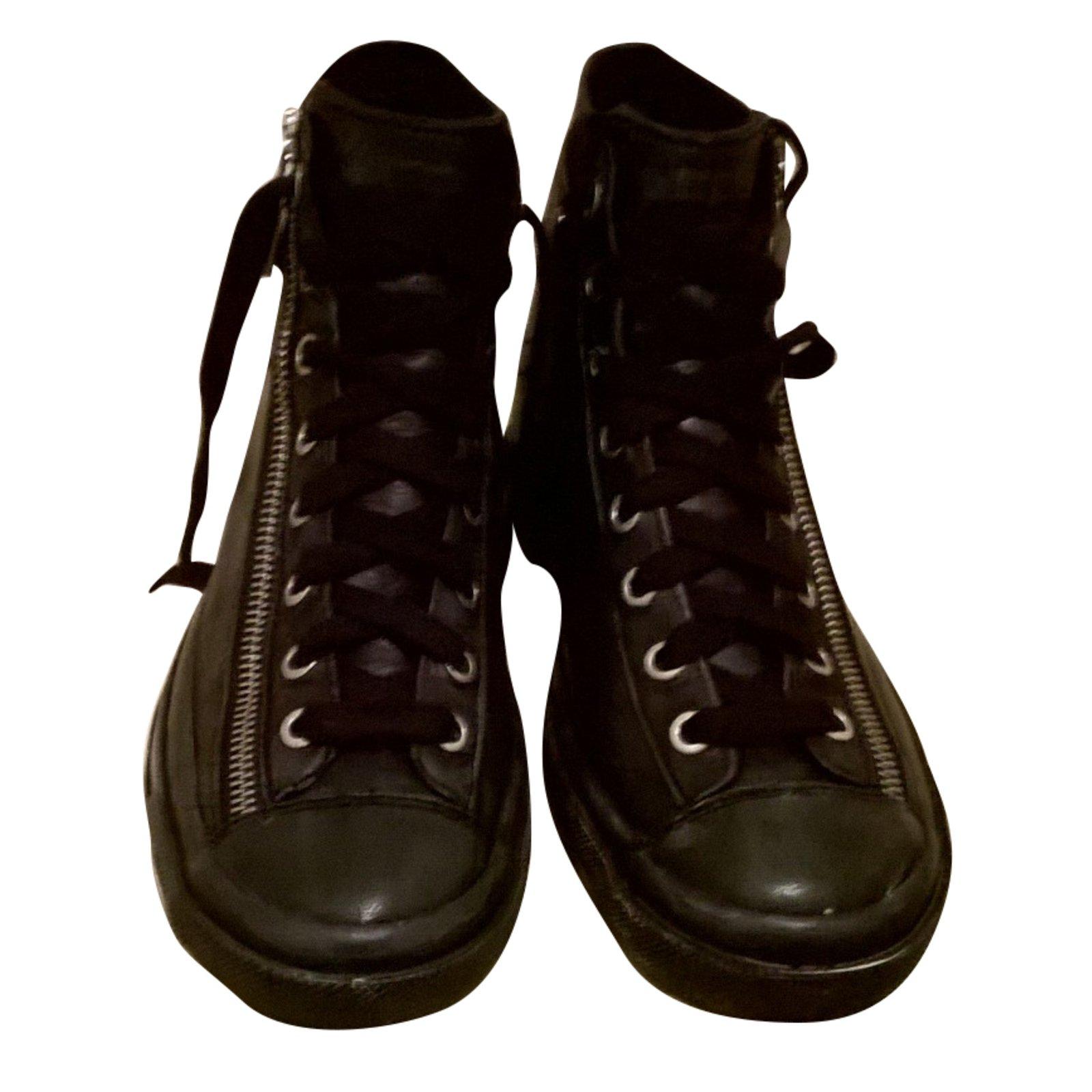 Diesel Sneakers Sneakers Leather Black