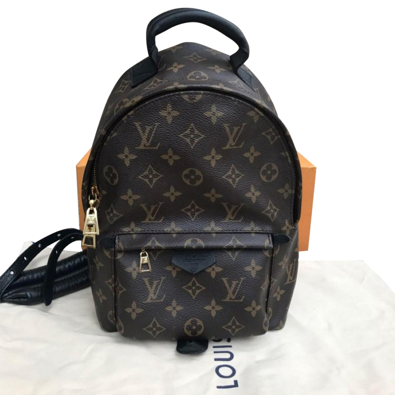 ... Louis Vuitton Palm springs backpack Backpacks Other Brown ref.55828 ... ca0671515e50f