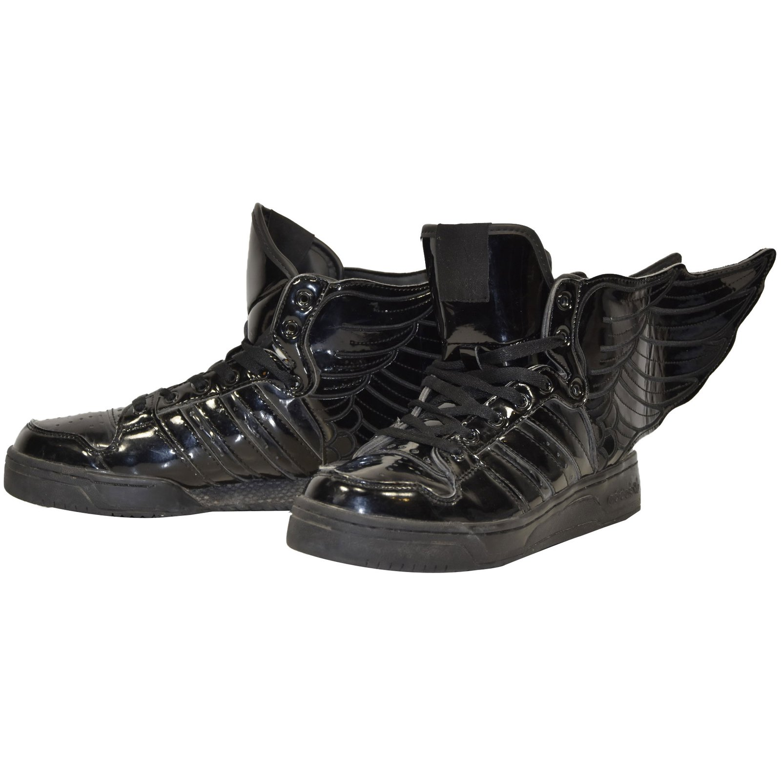 R069 BASKETS ADIDAS ORIGINALS JEREMY SCOTT WINGS T.39 13 UK 6