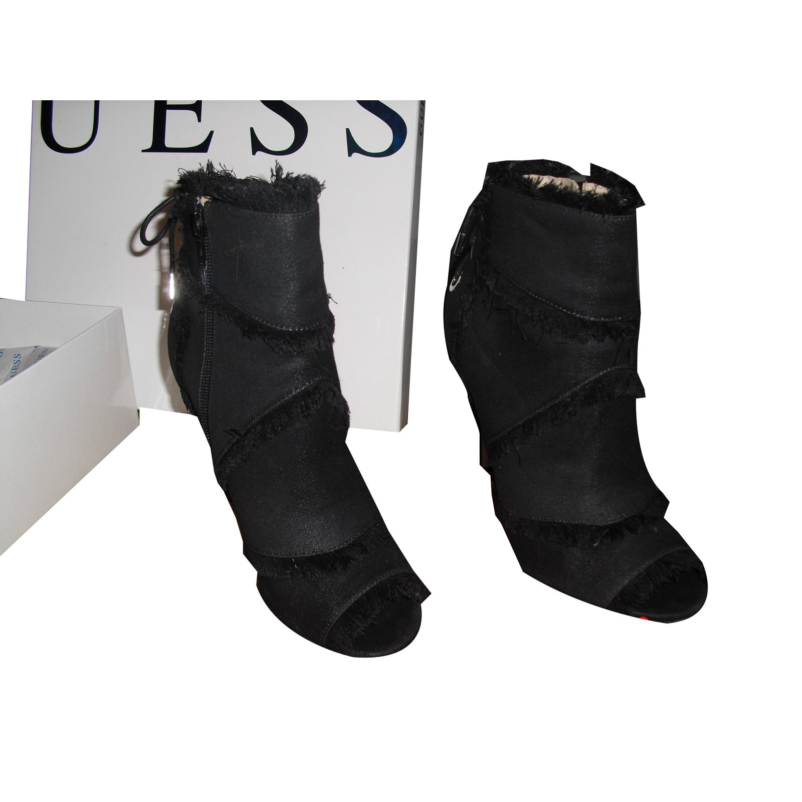 Guess PASTORA PEEP-TOE Ankle Boots