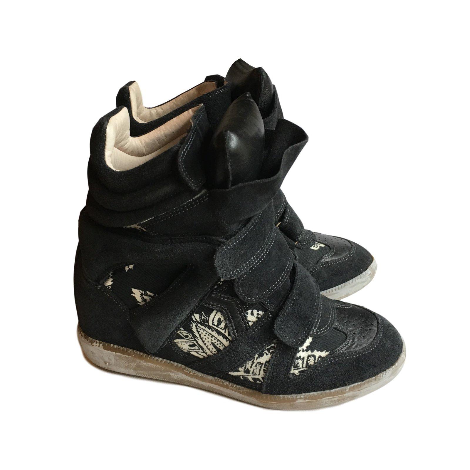 Isabel Marant Bekett Sneakers Leather