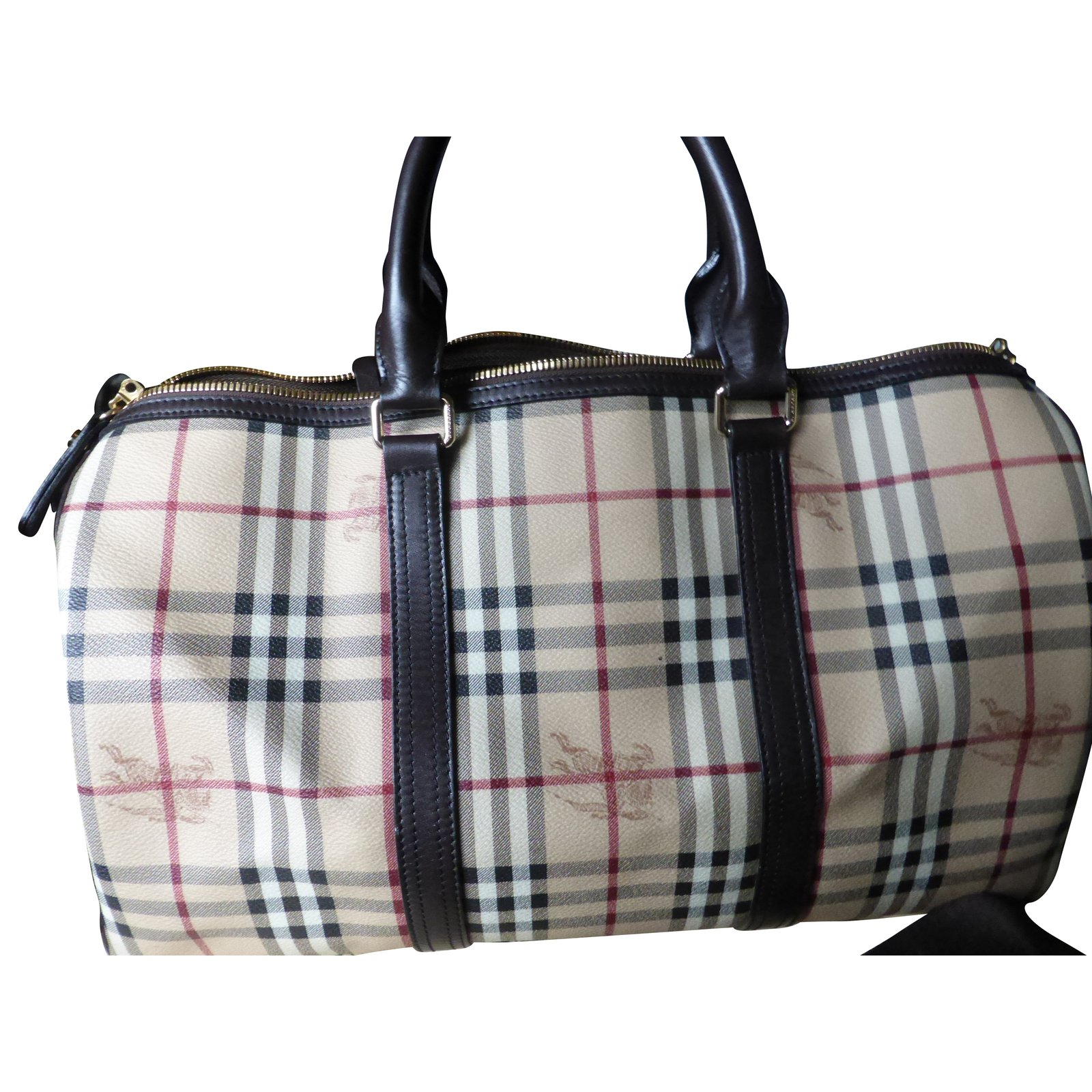 Burberry Travel Bag Leather Other Ref 56975