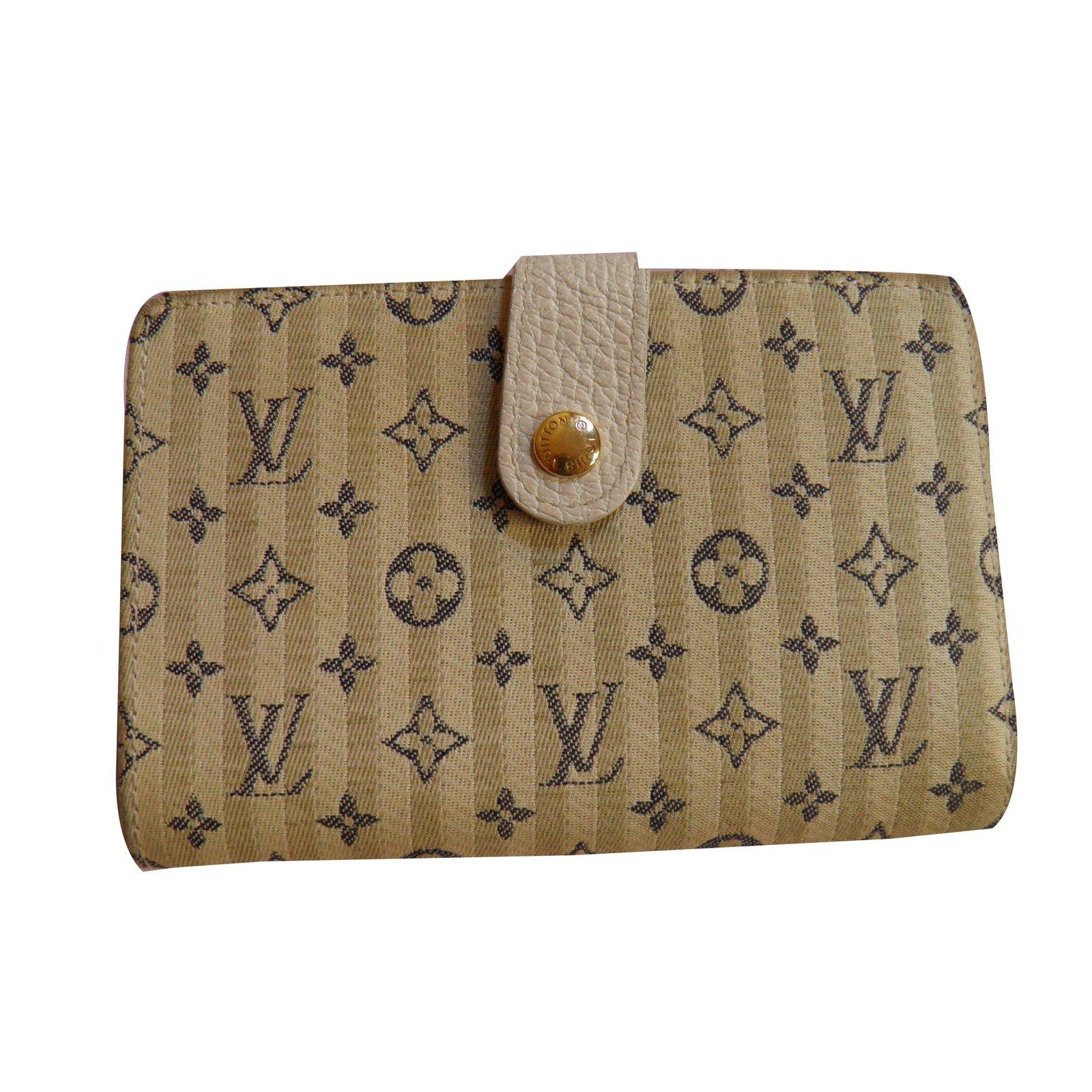 louis vuitton mini lin wallets other multiple colors ref 57194