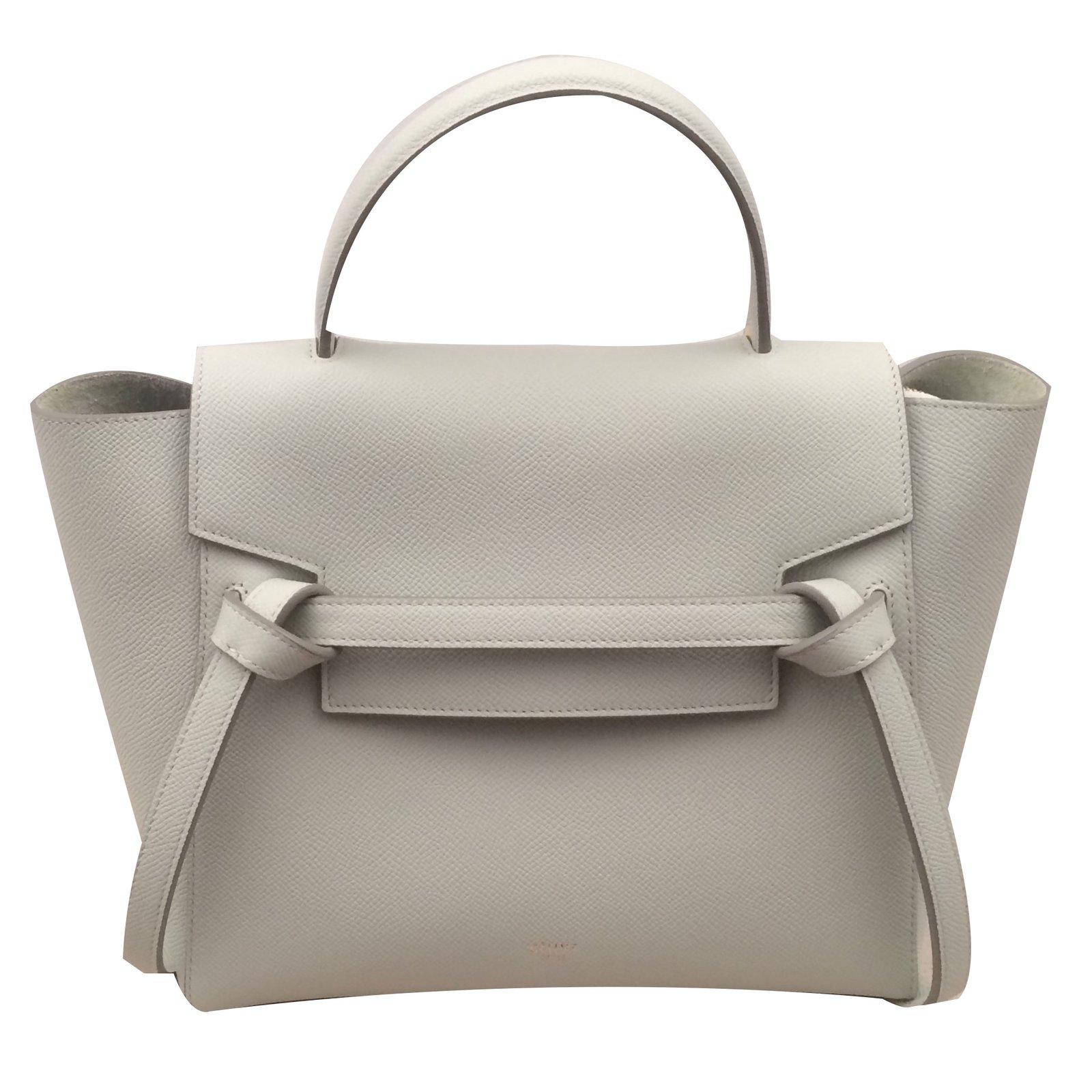 Celine Celine Micro Belt Handbags Leather Green Ref 57406 Joli Closet