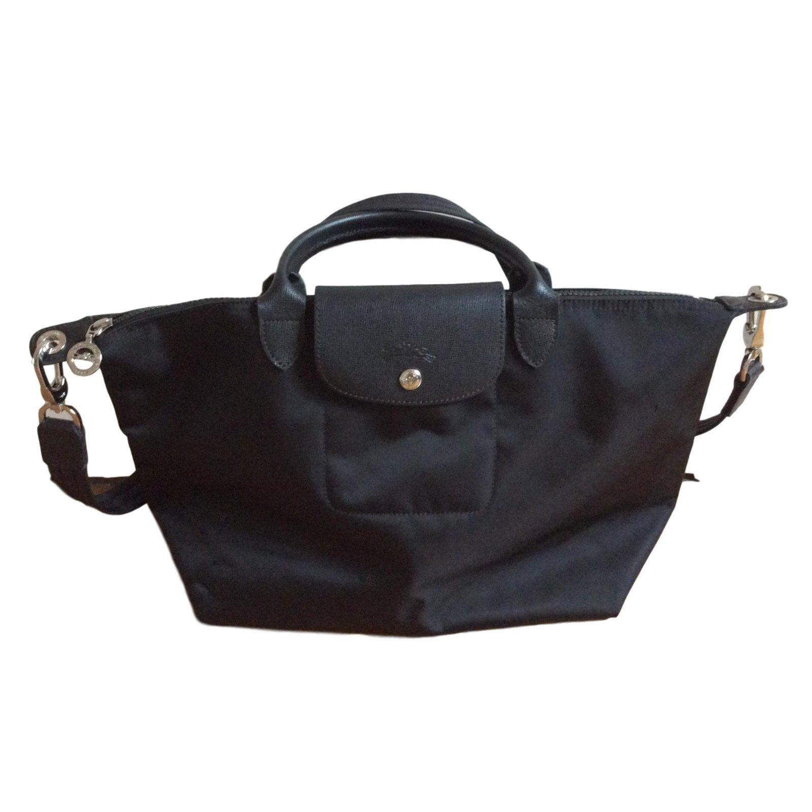 506c91b0a30 Longchamp le pliage néo taillé M Handbags Nylon Black ref.57740 ...