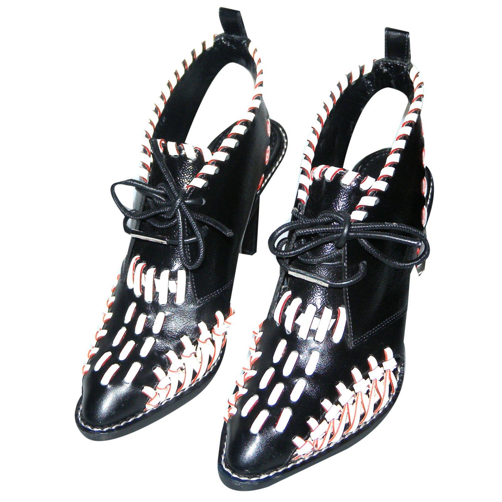 79c39495c1ea Louis Vuitton Sandals Sandals Leather Black