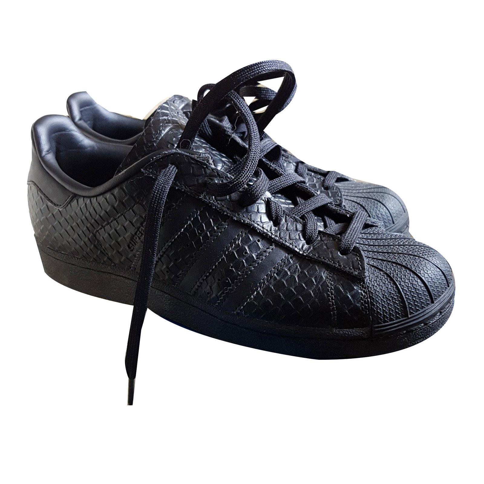 sneaker adidas cuir