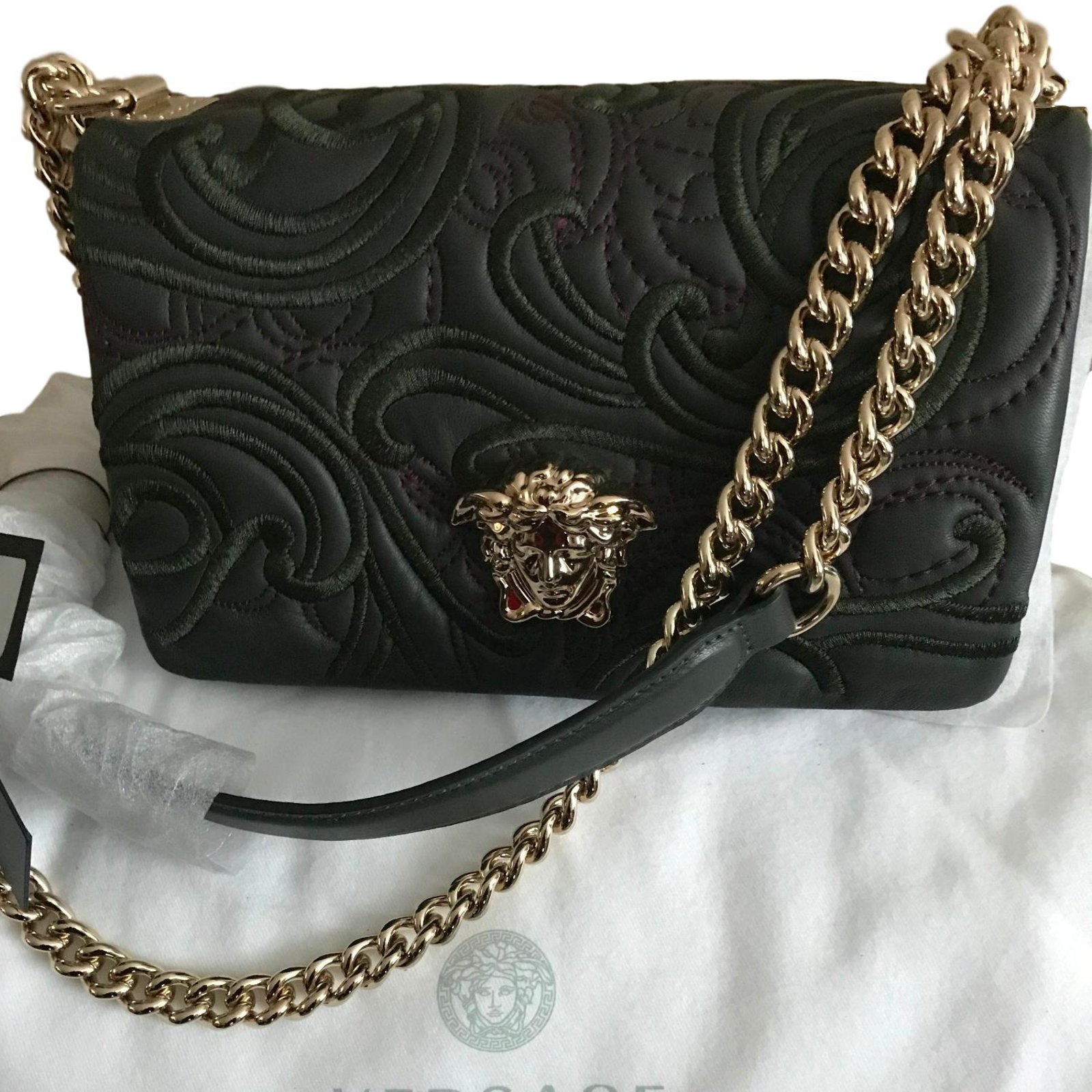 Embroidered Baroque Sultan Bag
