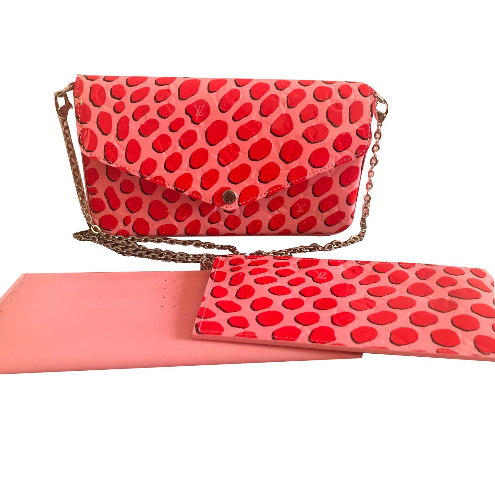 64b0e1efe883 Sacs à main Louis Vuitton Pochette Felicie Cuir vernis Multicolore ref.58319