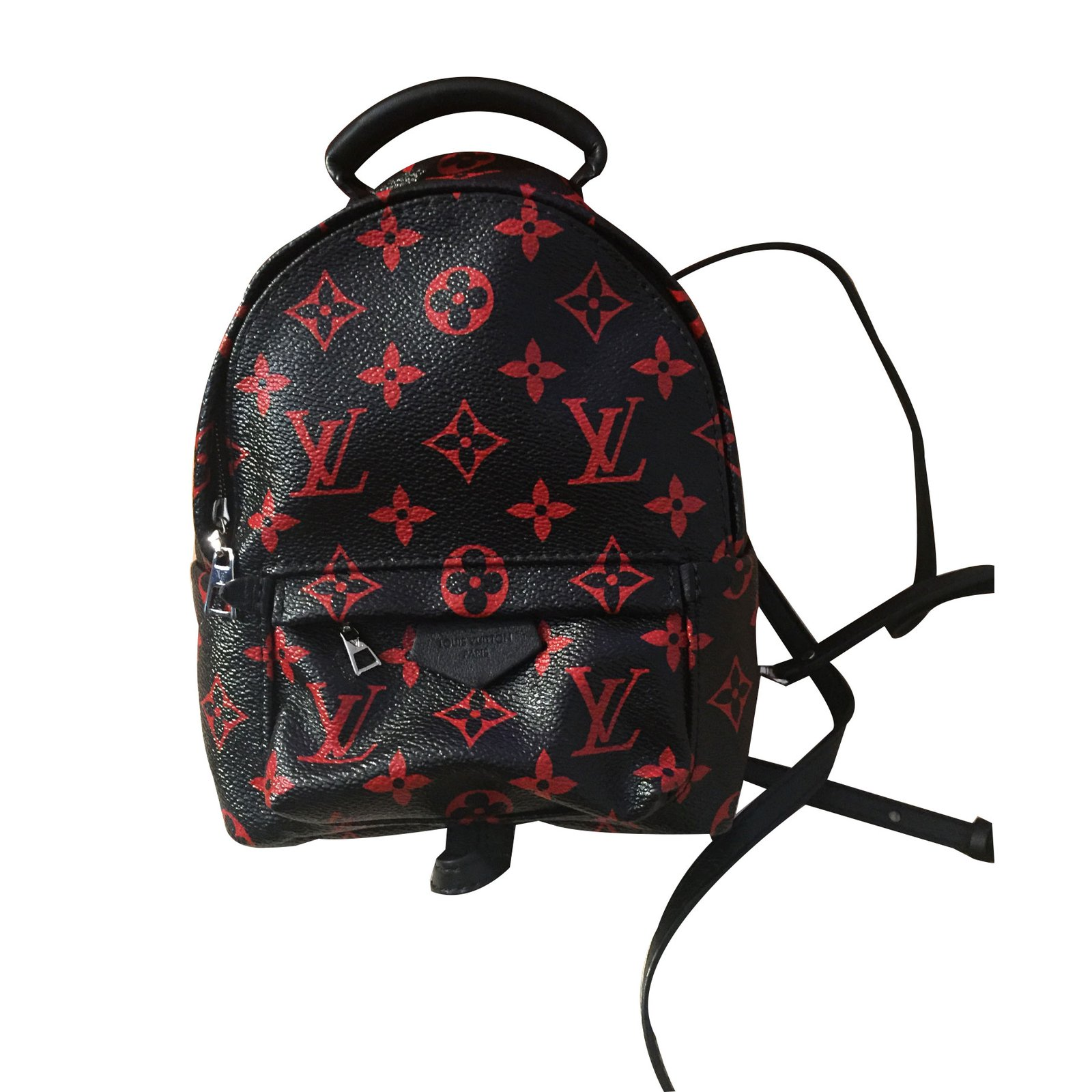 baed2416879f Louis Vuitton Limited Edition Black And Red Backpack- Fenix Toulouse ...