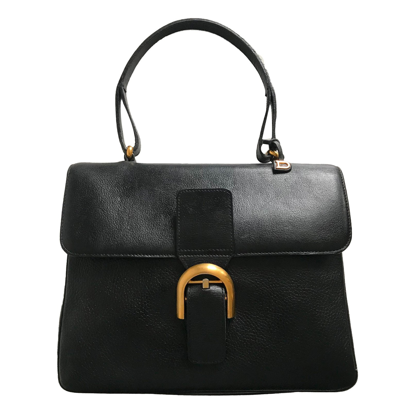 Delvaux Handbags Leather Black Ref 59664